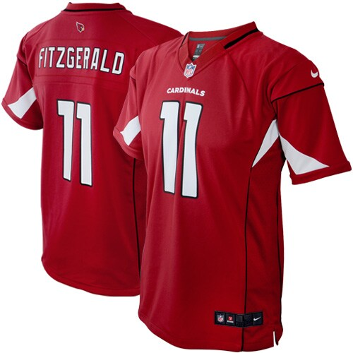 Larry Fitzgerald Arizona Cardinals Nike Preschool Game Jersey - Cardinal
