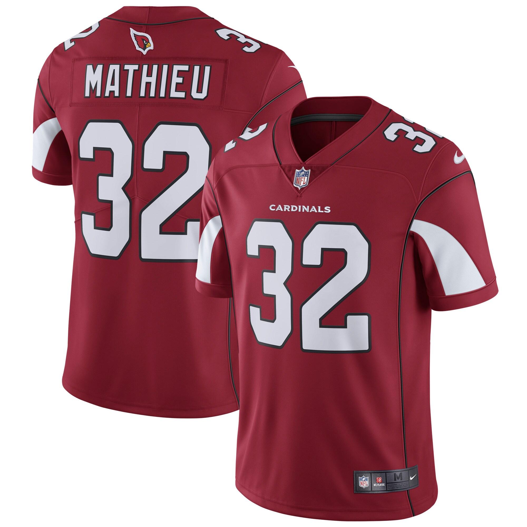 Tyrann Mathieu Arizona Cardinals Nike Vapor Untouchable Limited Player Jersey - Cardinal