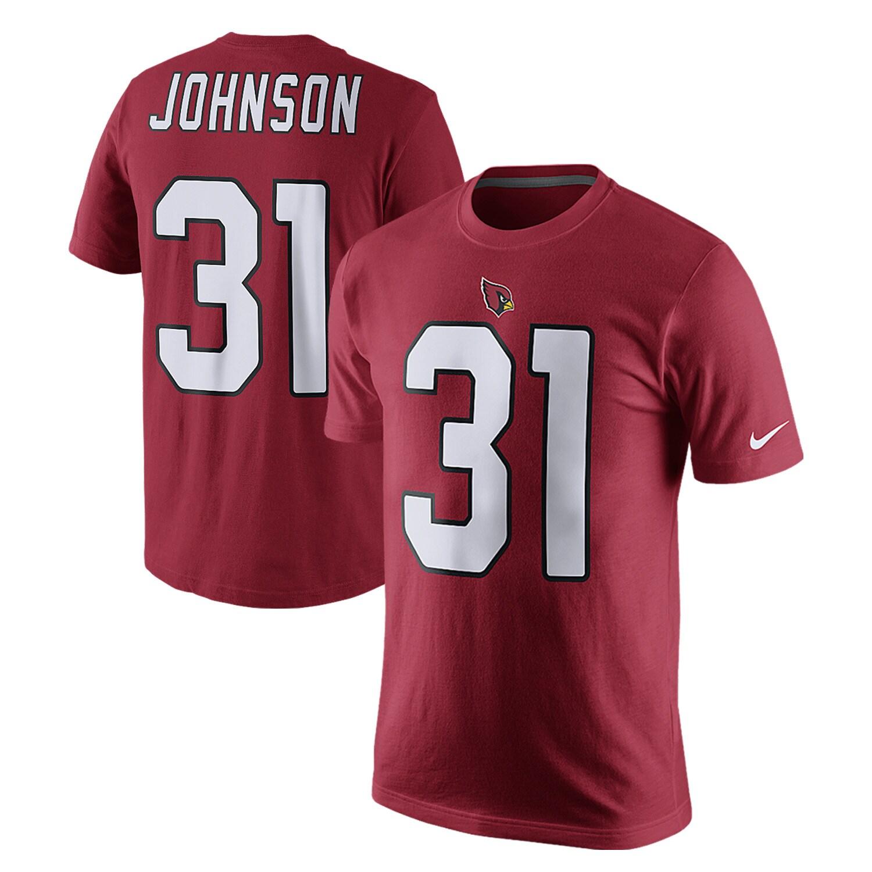 David Johnson Arizona Cardinals Nike Player Pride Name & Number T-Shirt - Cardinal