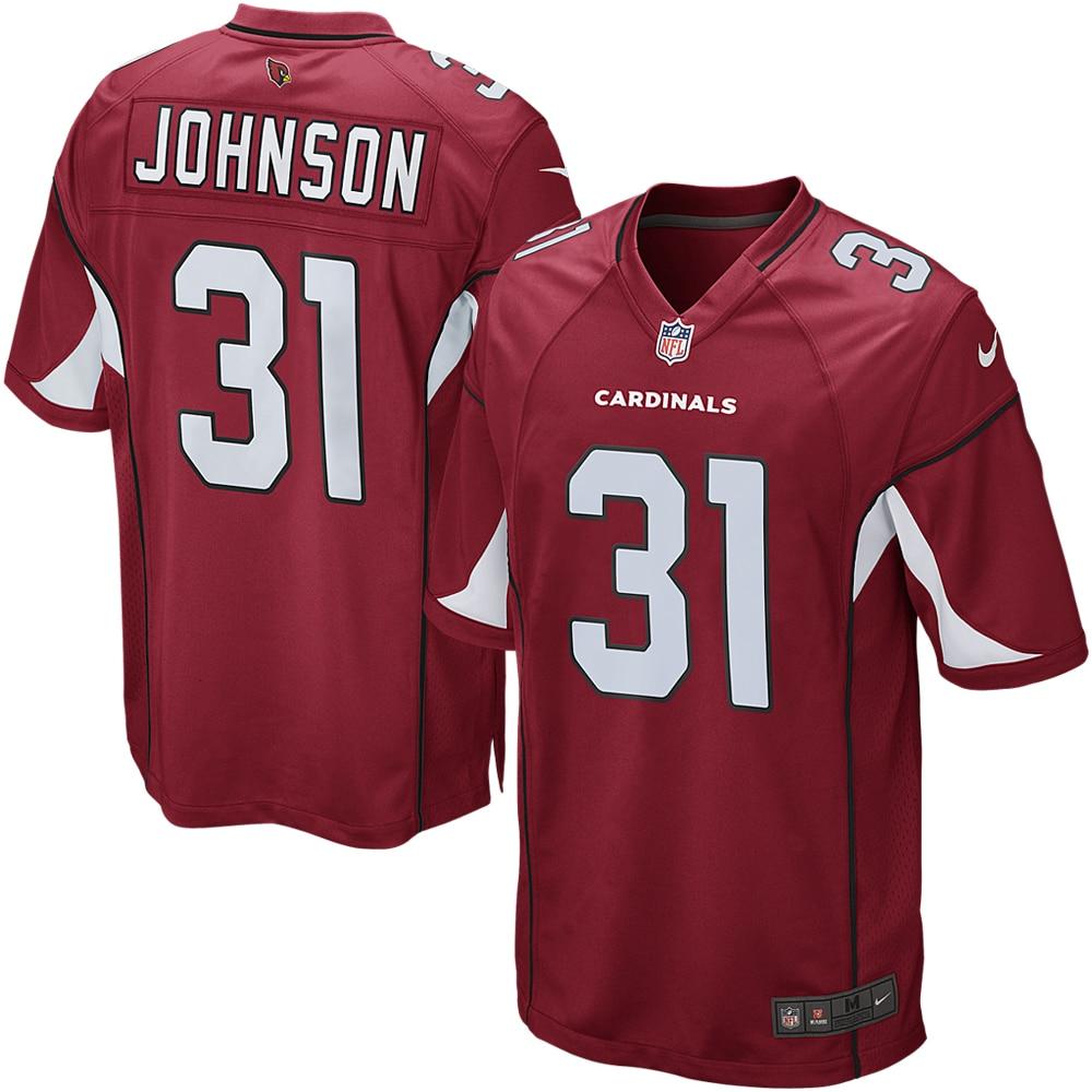 David Johnson Arizona Cardinals Nike Game Jersey - Cardinal