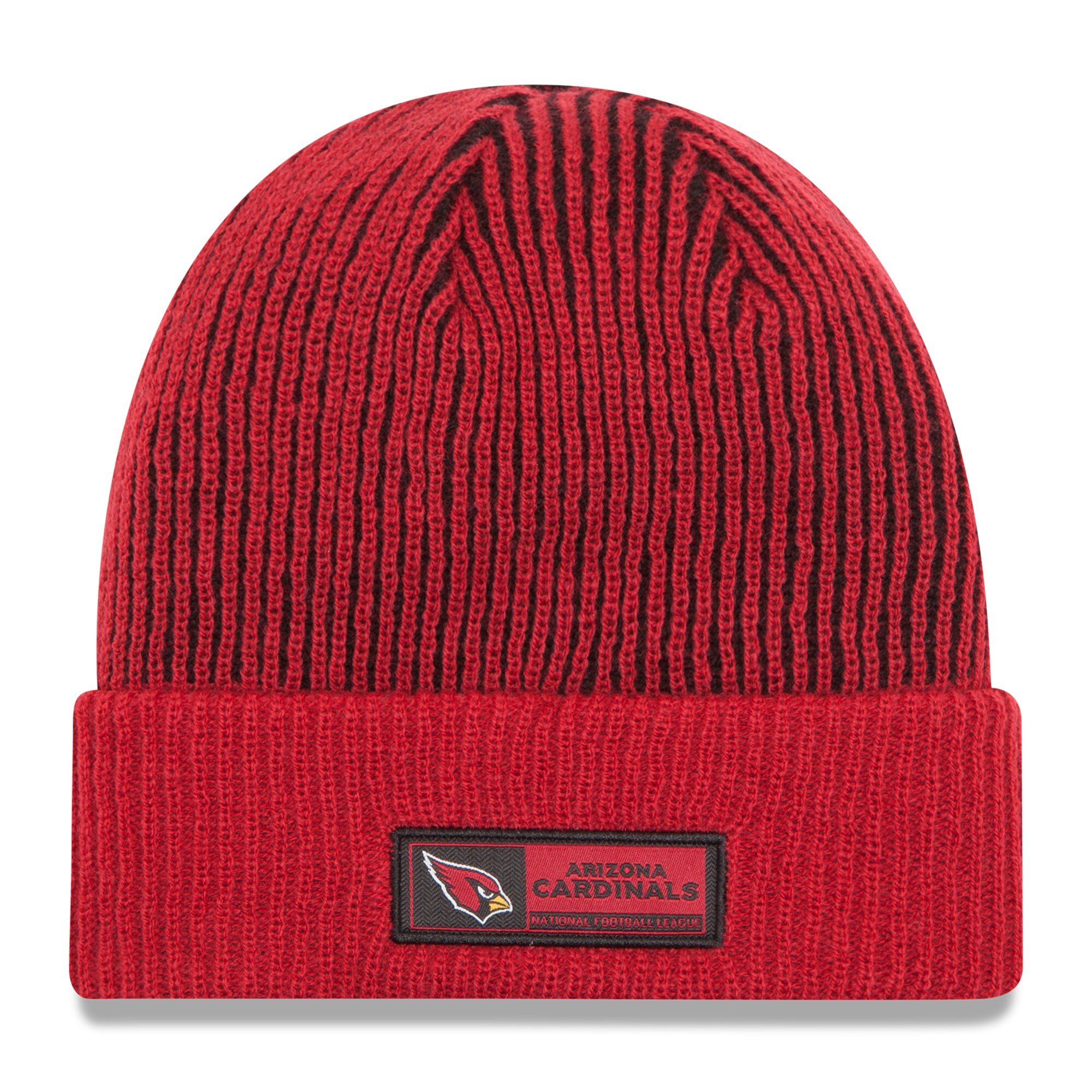 Arizona Cardinals New Era Sideline Official Tech Knit Hat - Cardinal