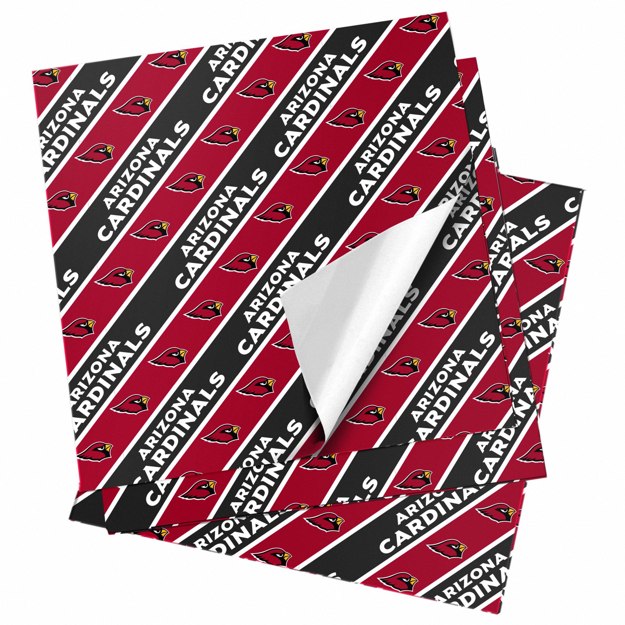 "Arizona Cardinals 20"" x 30"" Wrapping Paper"