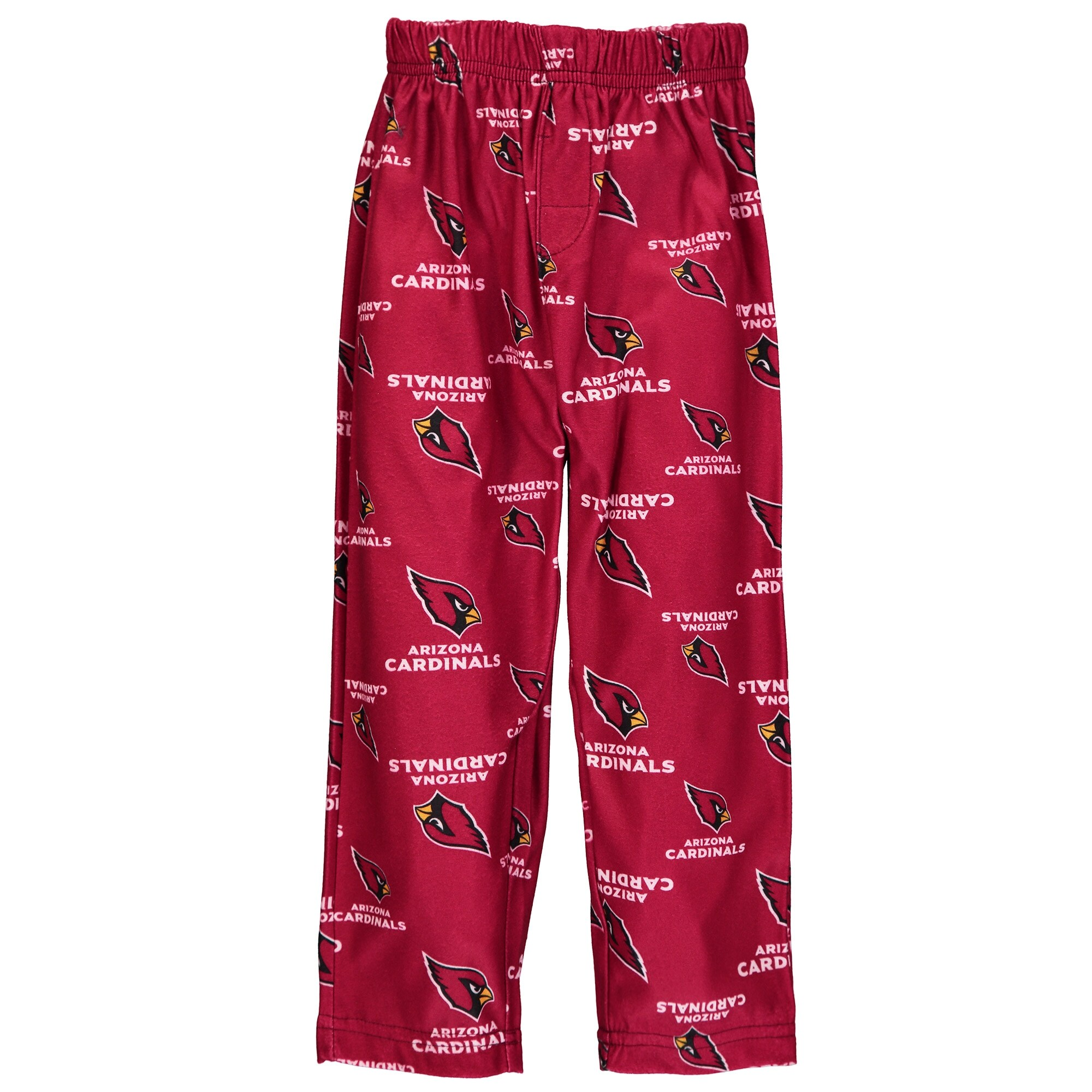 Arizona Cardinals Toddler Allover Print Pajama Pants - Cardinal