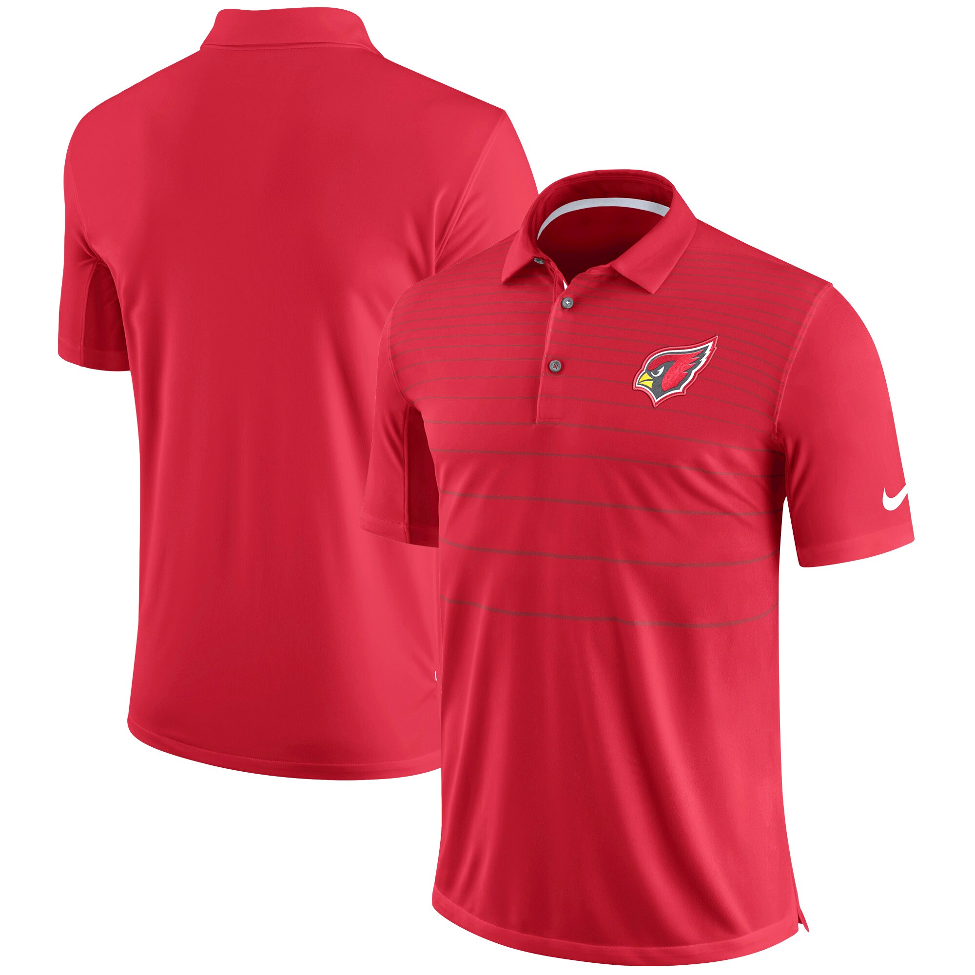 Arizona Cardinals Nike Sideline Early Season Performance Polo - Cardinal