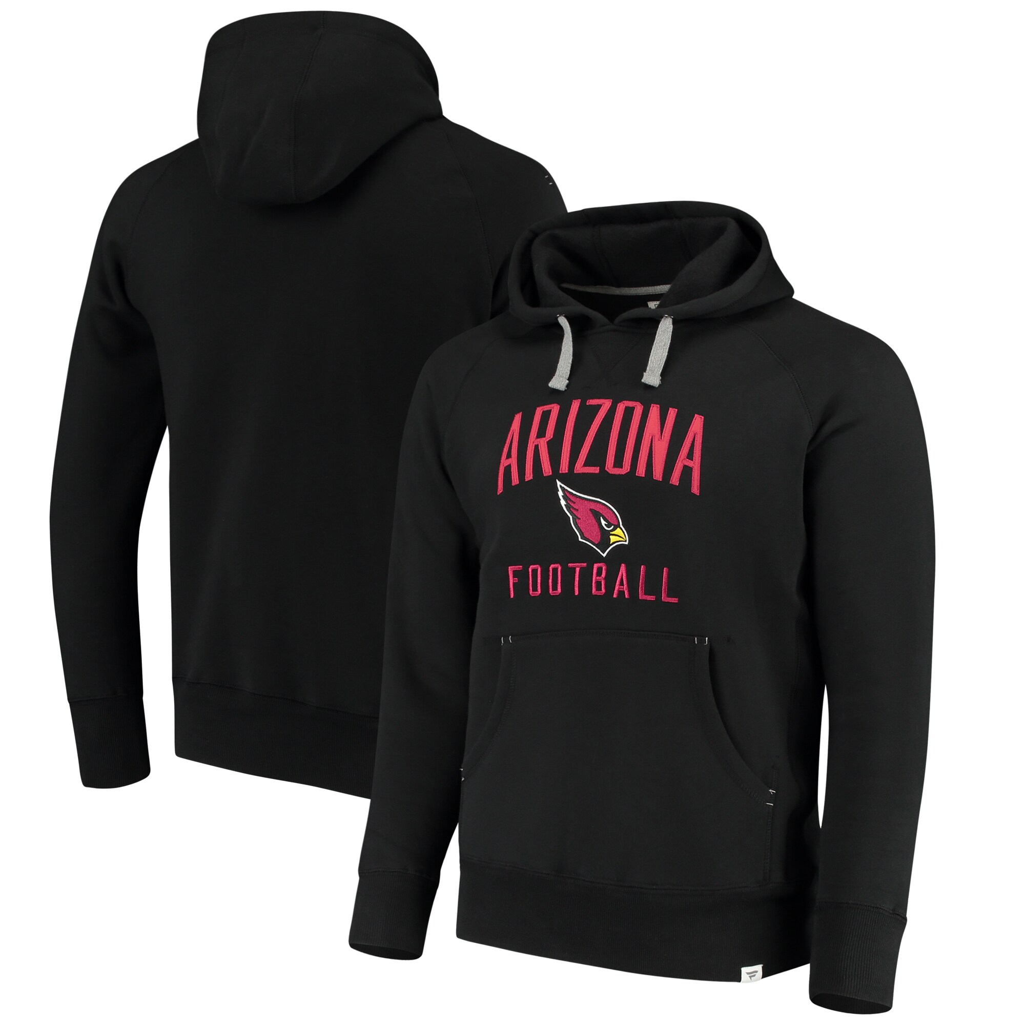 Arizona Cardinals NFL Pro Line by Fanatics Branded Indestructible Pullover Hoodie - Black
