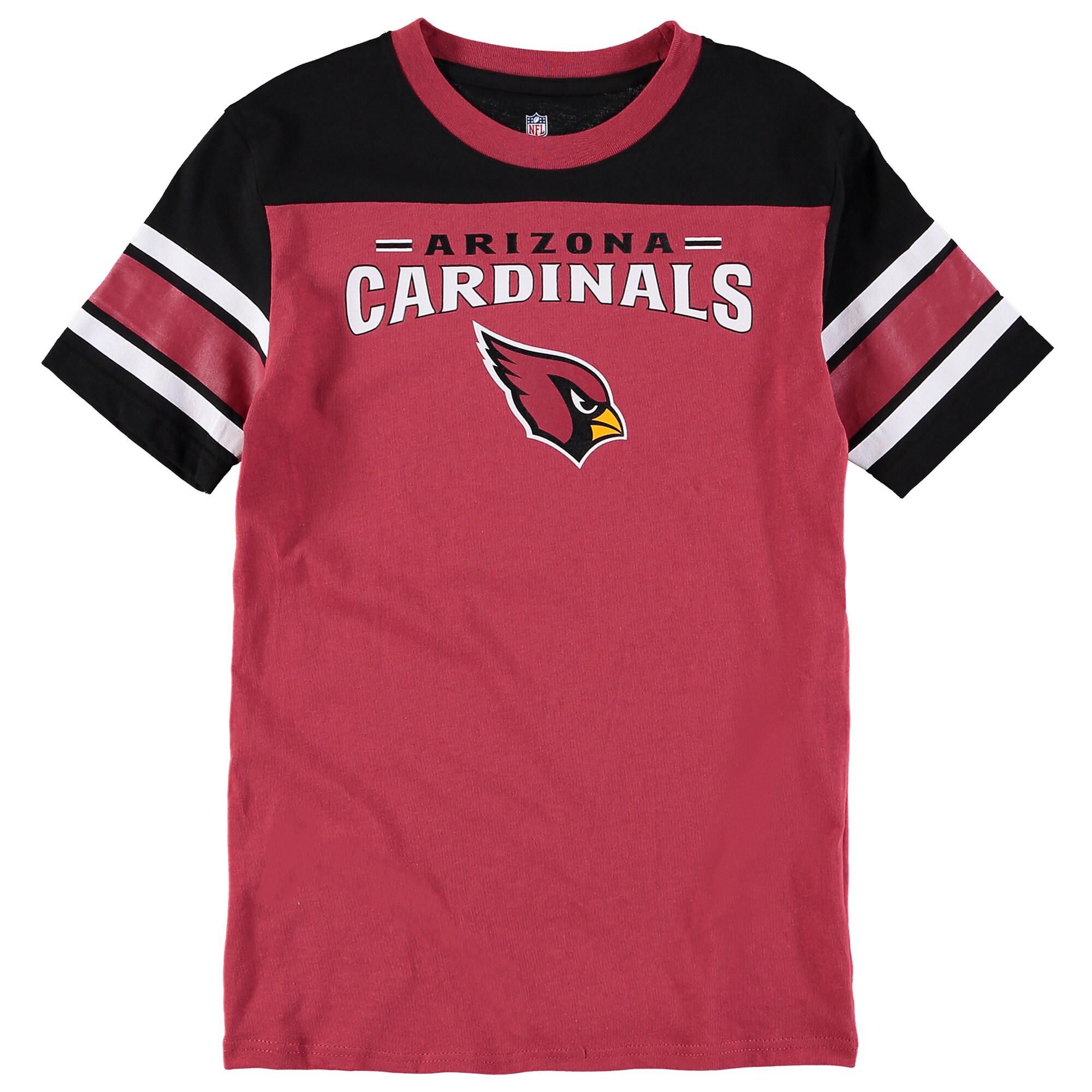 Arizona Cardinals Youth Fan Gear Loyalty T-Shirt - Cardinal
