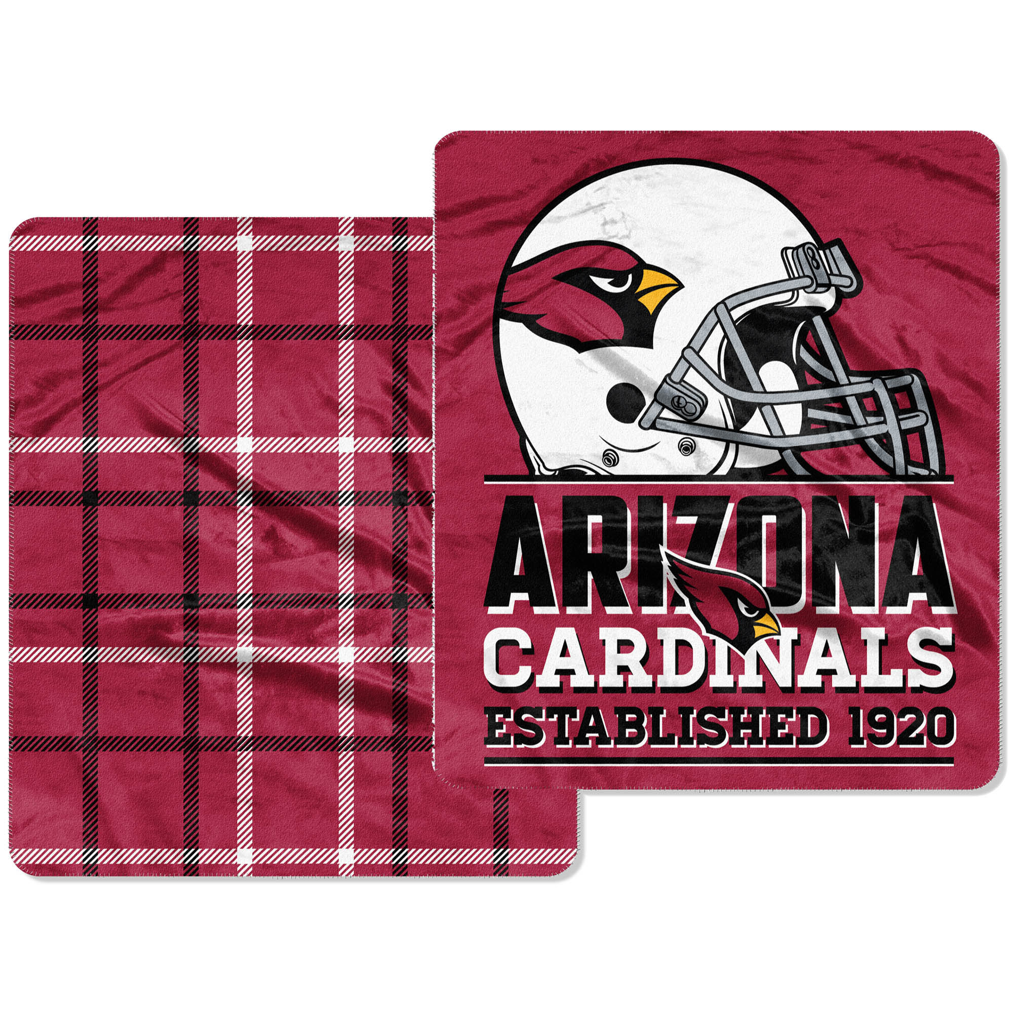 Arizona Cardinals The Northwest Company Home Field Cloud 60'' x 70'' Double-Sided Plush Throw Blanket