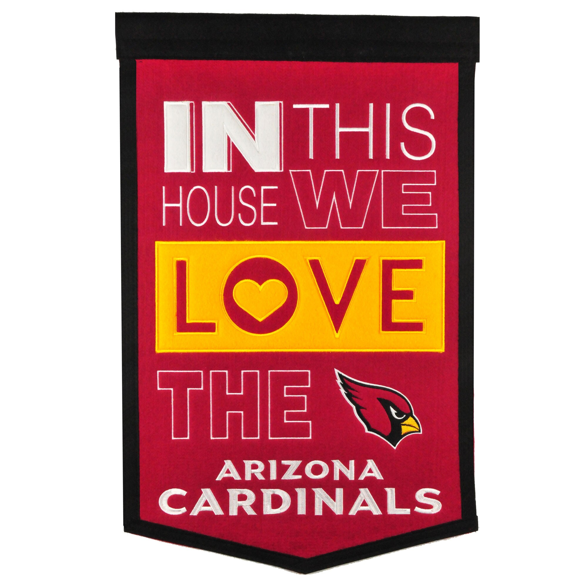 Arizona Cardinals 15'' x 24'' Home Banner