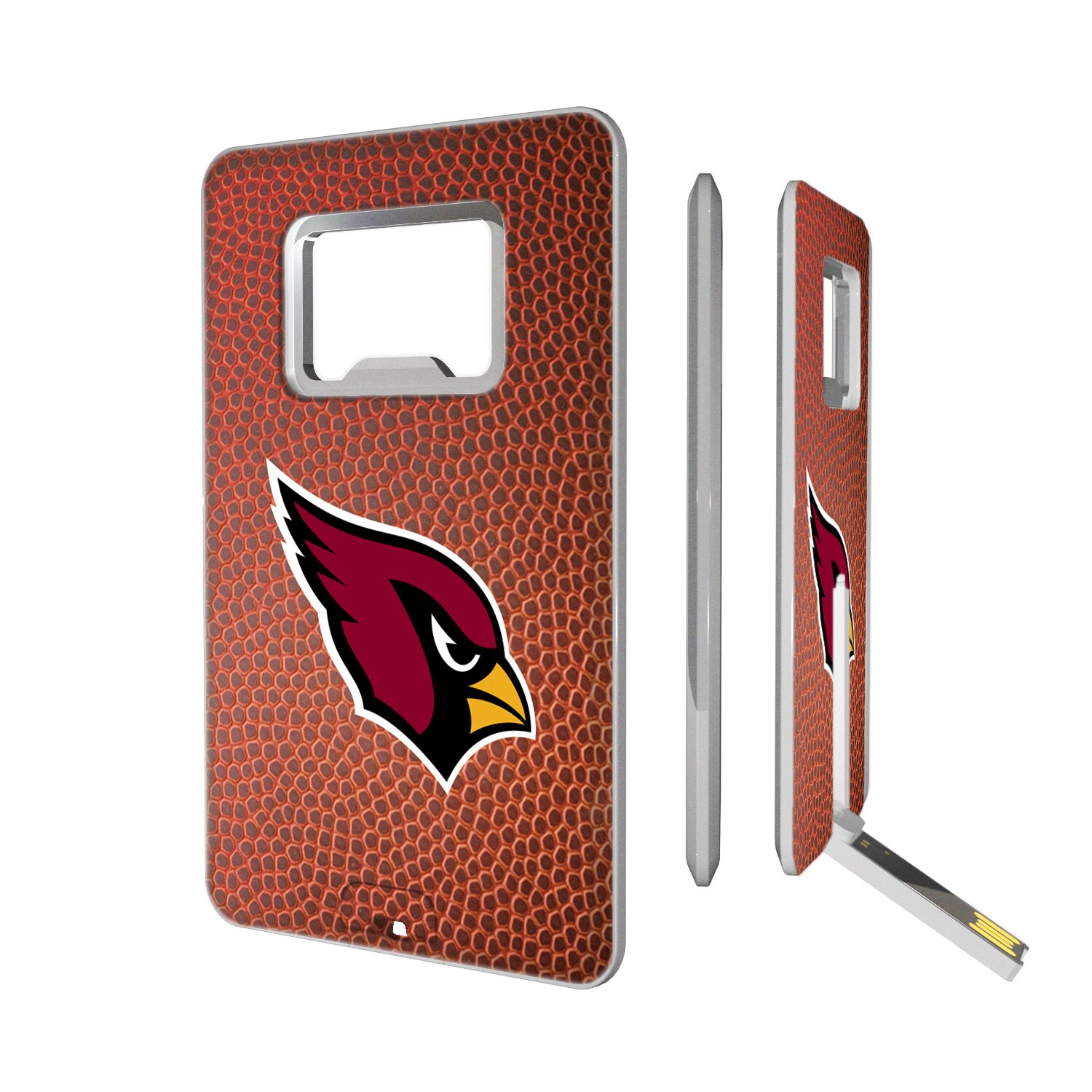 Arizona Cardinals Football Credit Card USB Drive & Bottle Opener