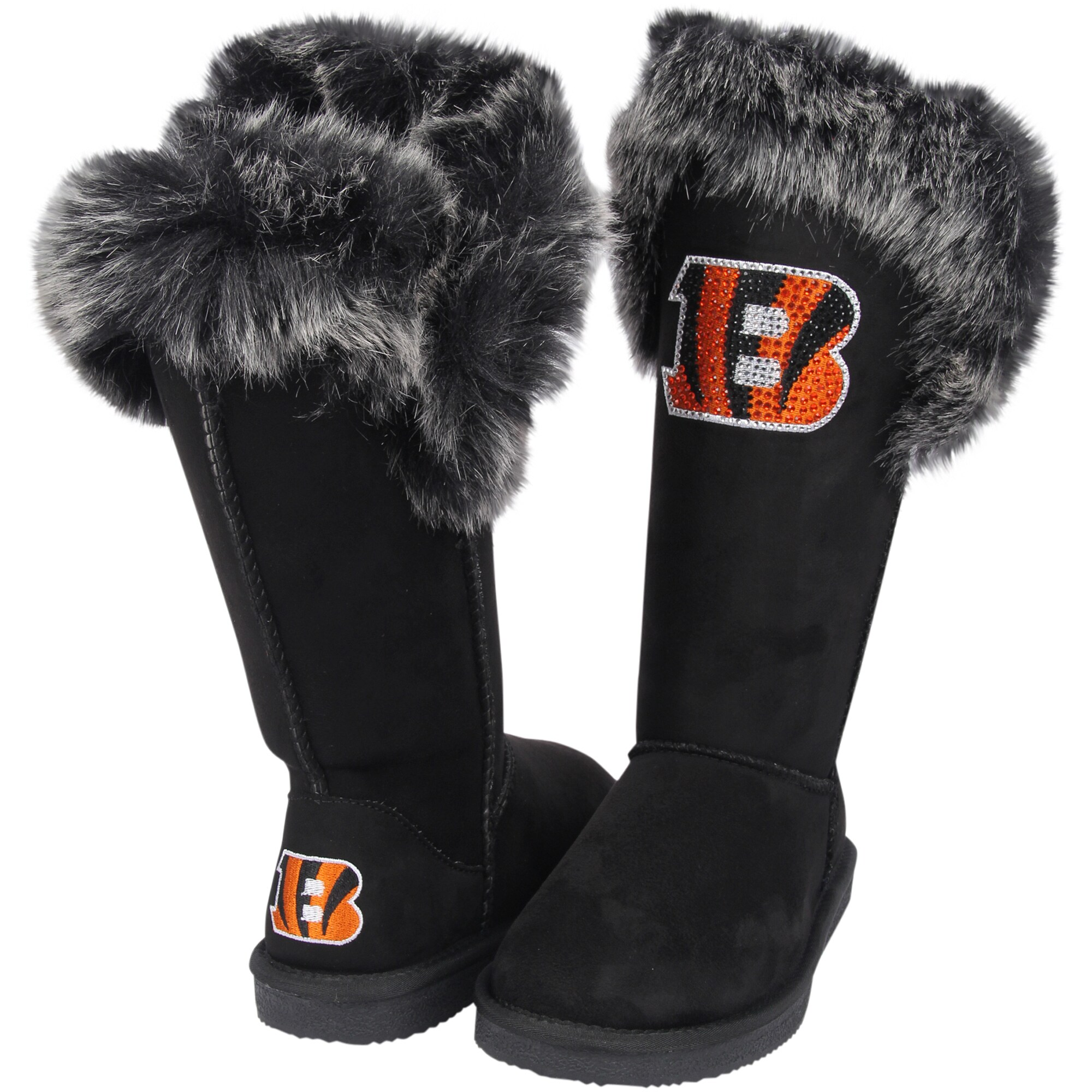 Cincinnati Bengals Cuce Women's Devoted Boots - Black