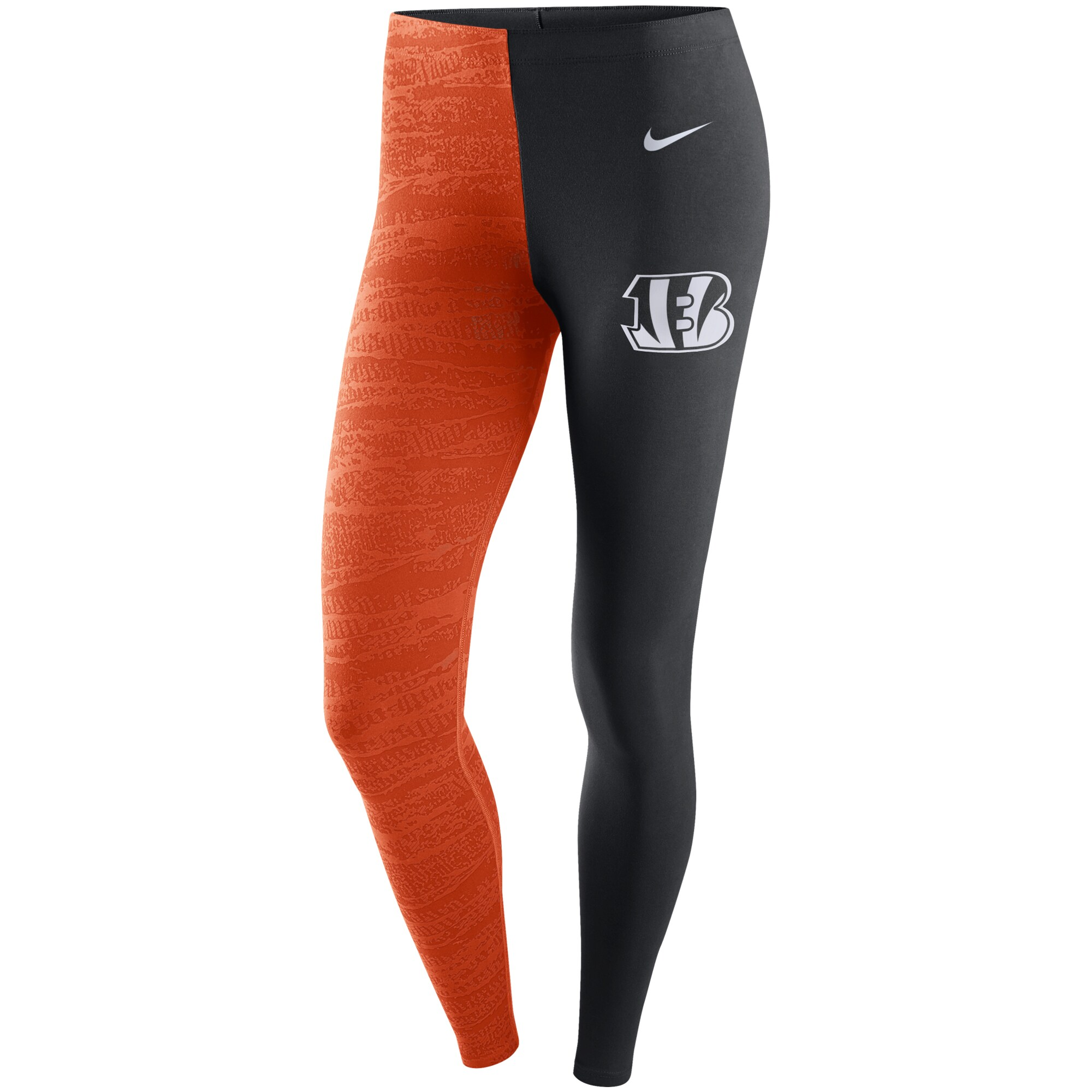 Cincinnati Bengals Nike Women's Leg-A-See Leggings - Black