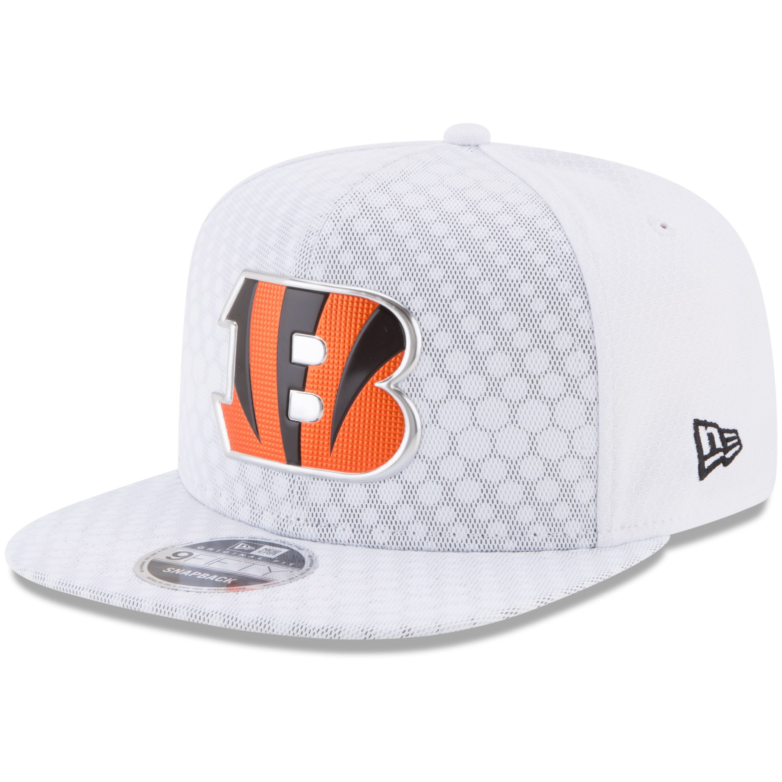 Cincinnati Bengals New Era 2017 Color Rush 9FIFTY Snapback Adjustable Hat - White
