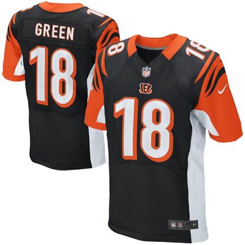 AJ Green Cincinnati Bengals Nike Elite Jersey - Black