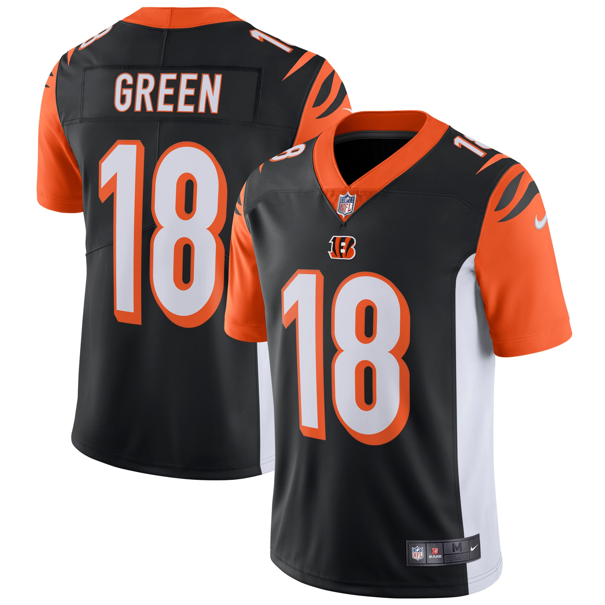 A.J. Green Cincinnati Bengals Nike Vapor Untouchable Limited Player Jersey - Black