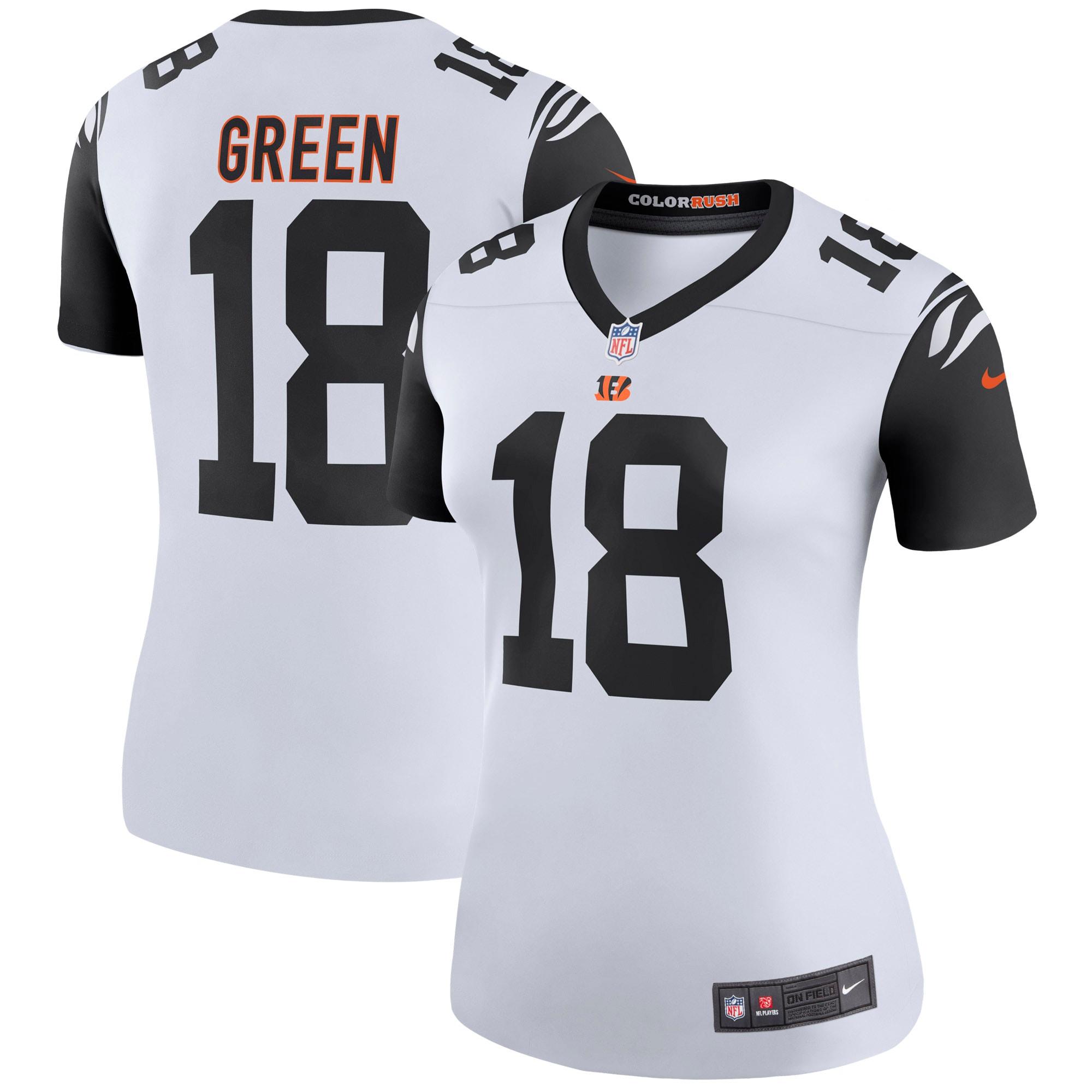 A.J. Green Cincinnati Bengals Nike Women's 2nd Alternate Legend Jersey - White