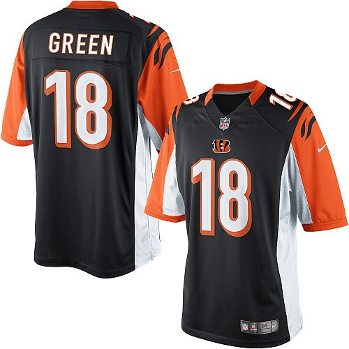 AJ Green Cincinnati Bengals Nike Youth Limited Jersey - Black