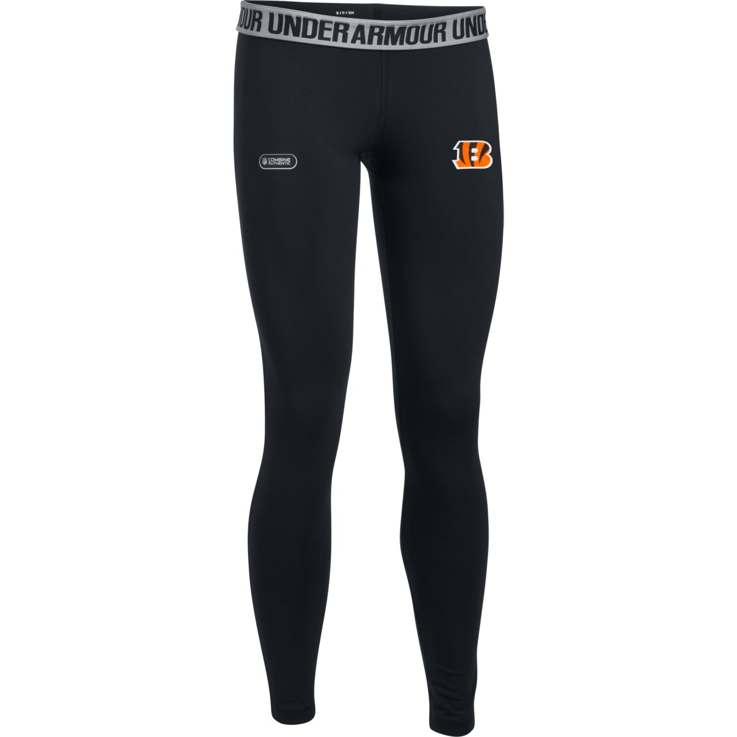 Cincinnati Bengals Under Armour Women's Combine Authentic Favorites Leggings - Black