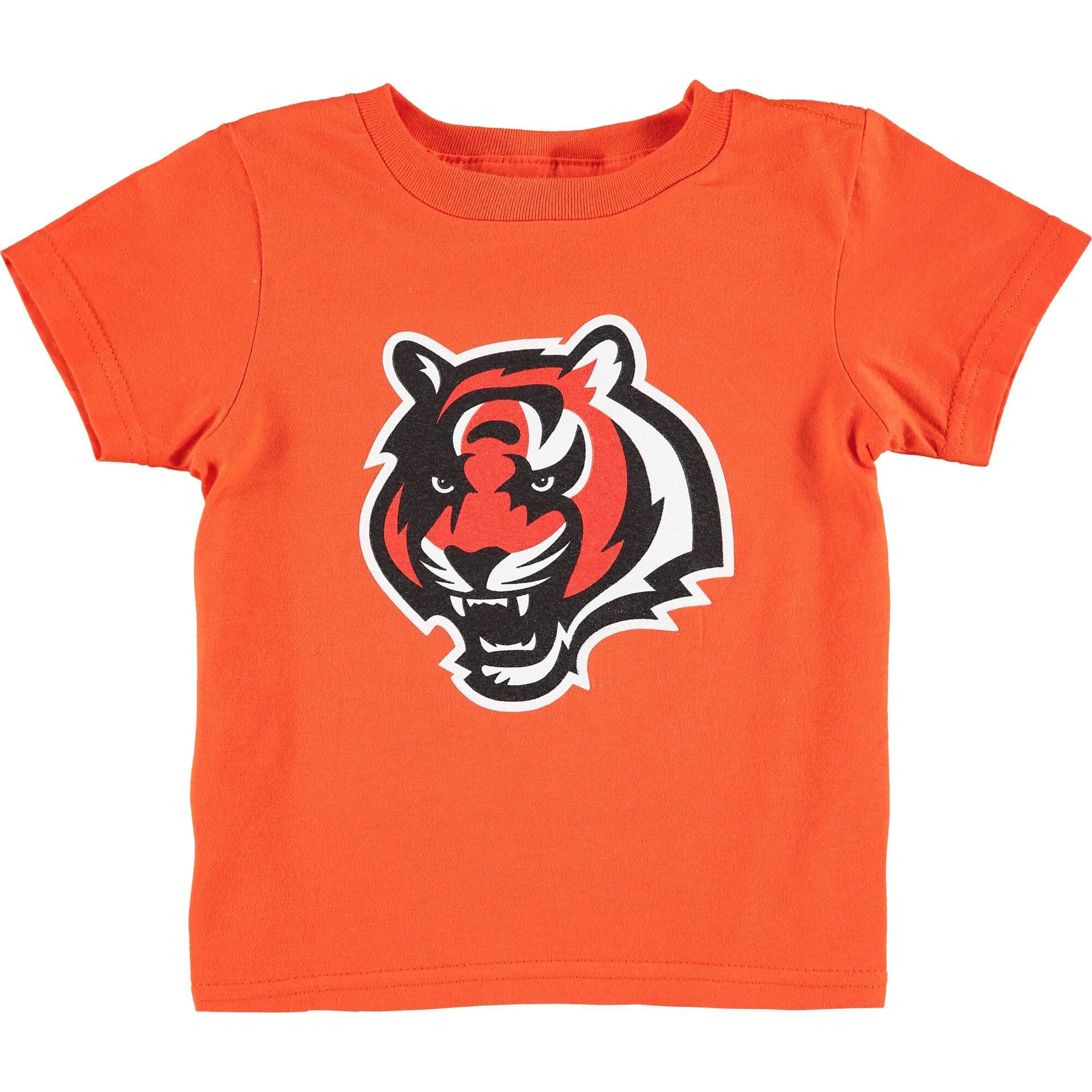 Cincinnati Bengals Toddler Team Logo T-Shirt - Orange