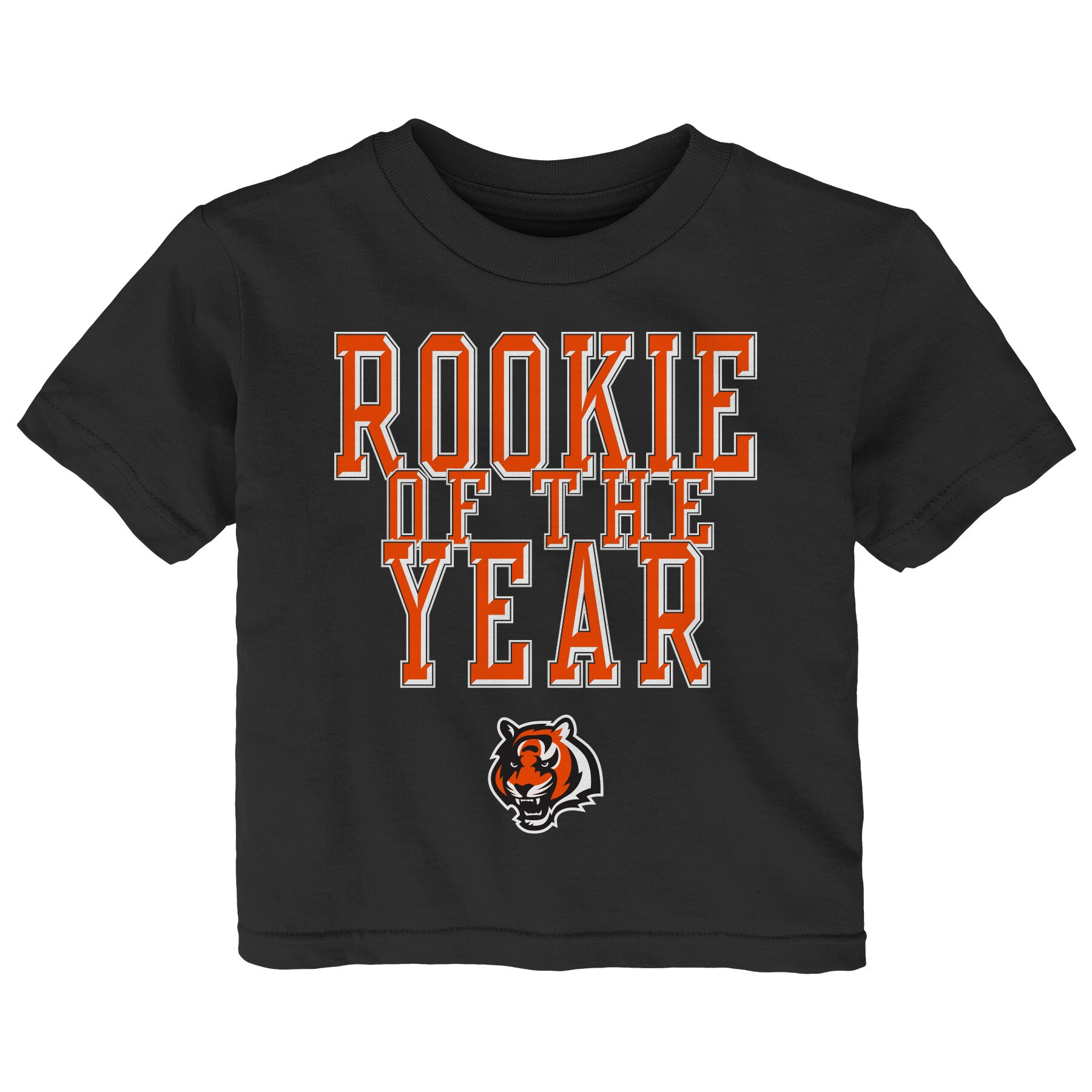 Cincinnati Bengals Toddler Rookie Of The Year T-Shirt - Black