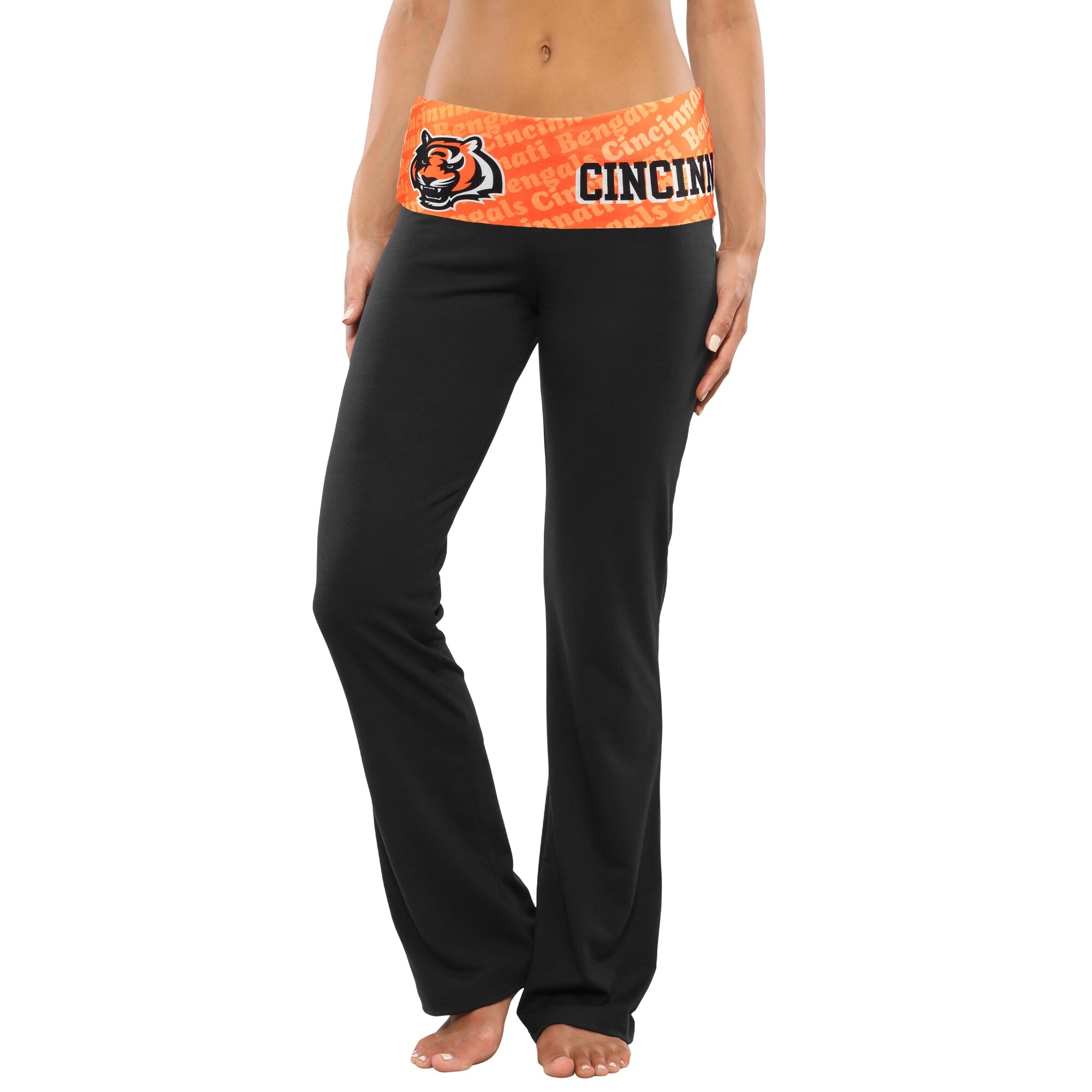 Cincinnati Bengals Women's Cameo Knit Pants - Black