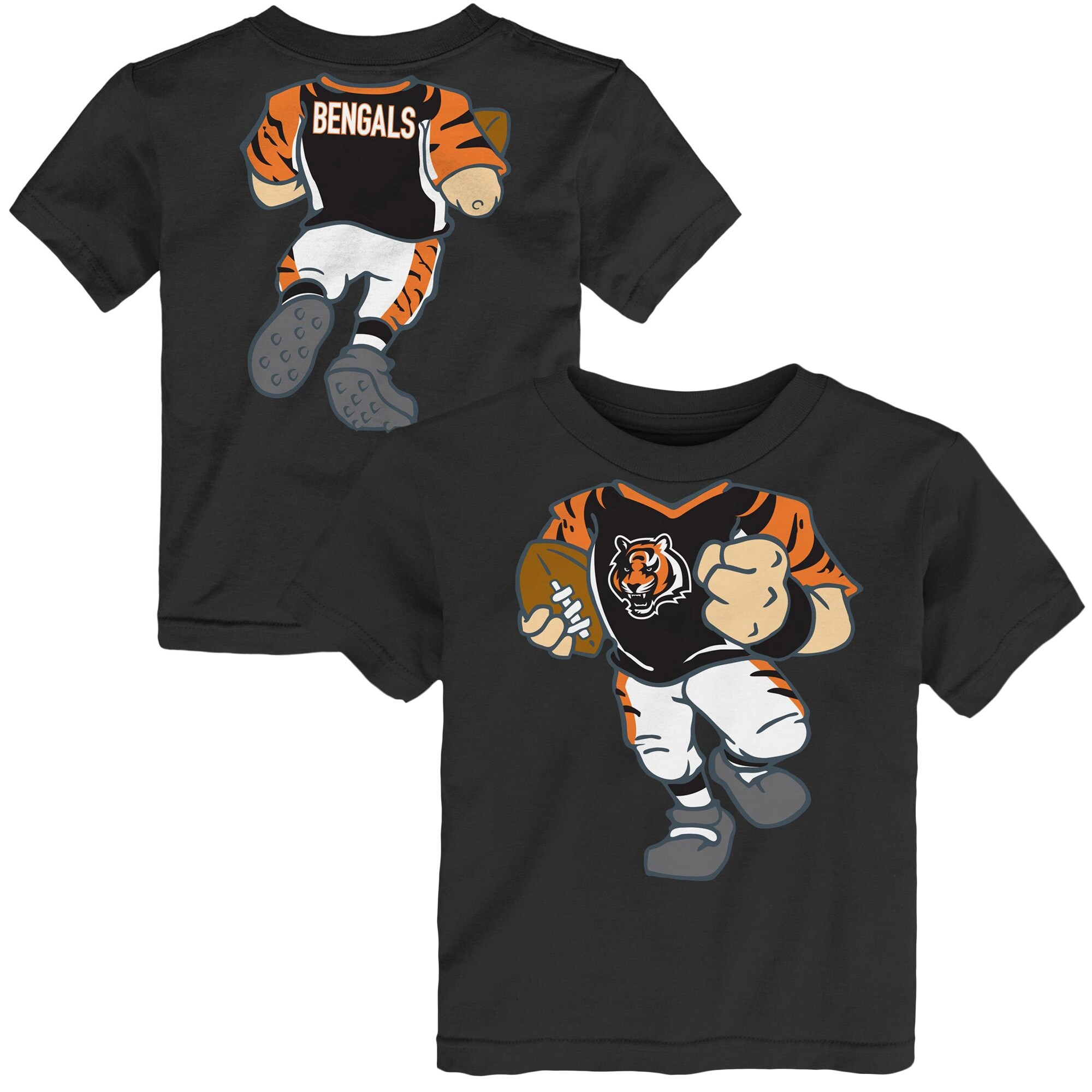 Cincinnati Bengals Toddler Football Dreams T-Shirt - Black