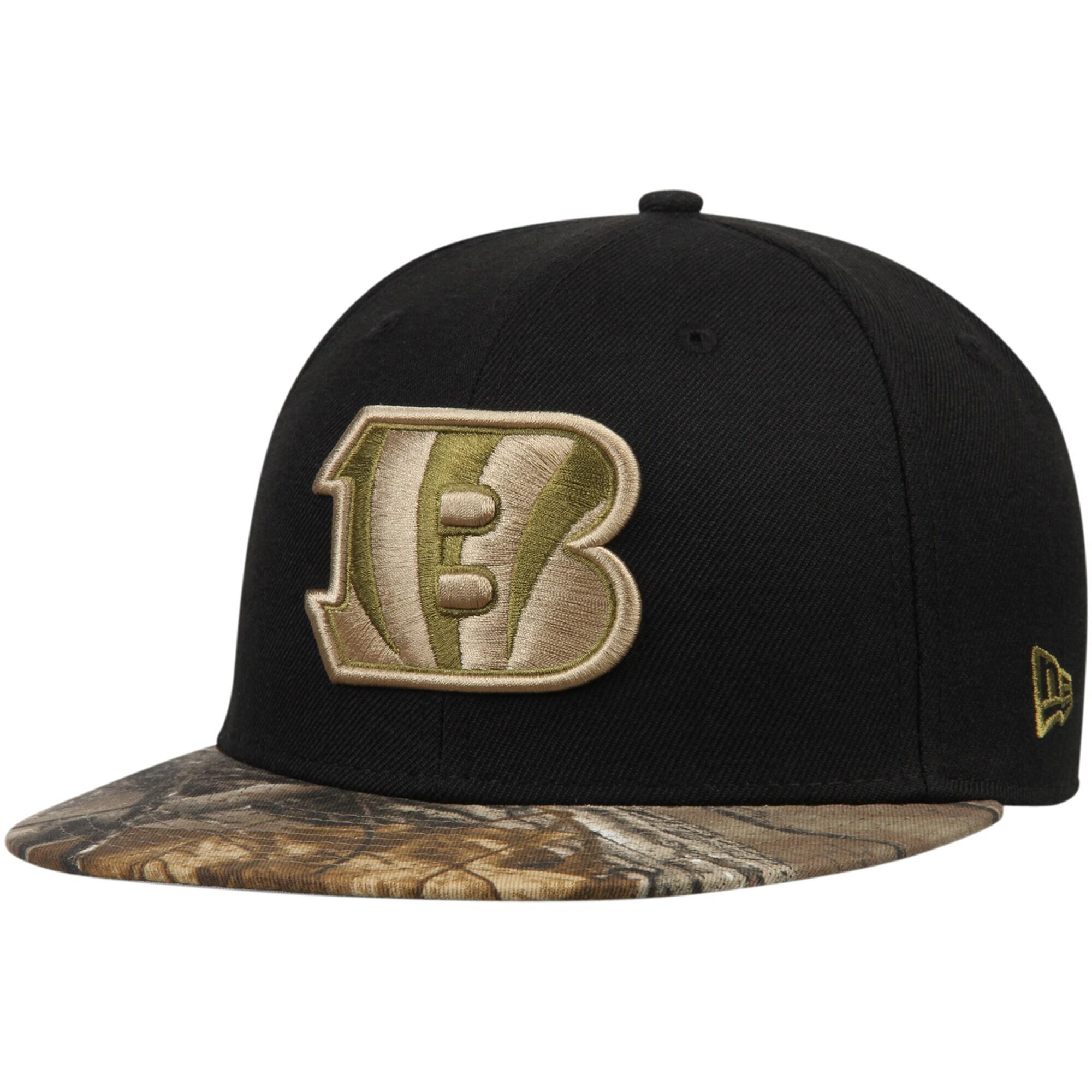 Cincinnati Bengals New Era Rambo 59FIFTY Fitted Hat - Black/Realtree Camo