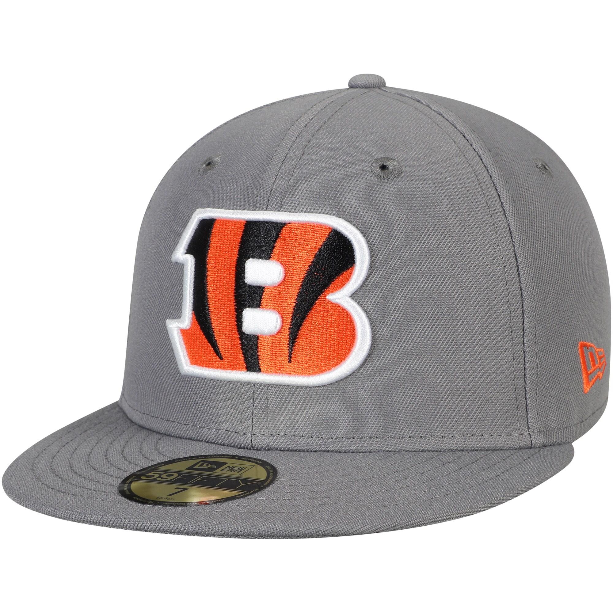 Cincinnati Bengals New Era Storm 59FIFTY Fitted Hat - Graphite