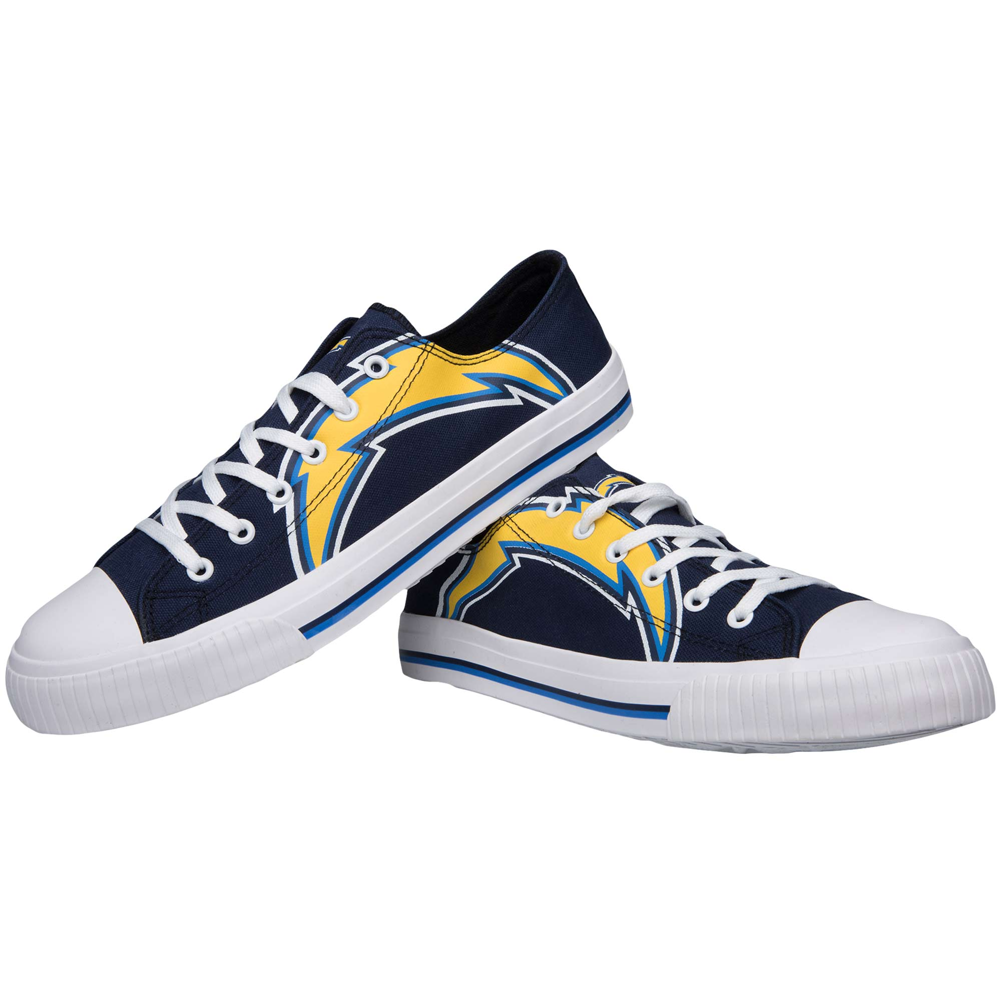 Los Angeles Chargers Big Logo Low Top Sneakers