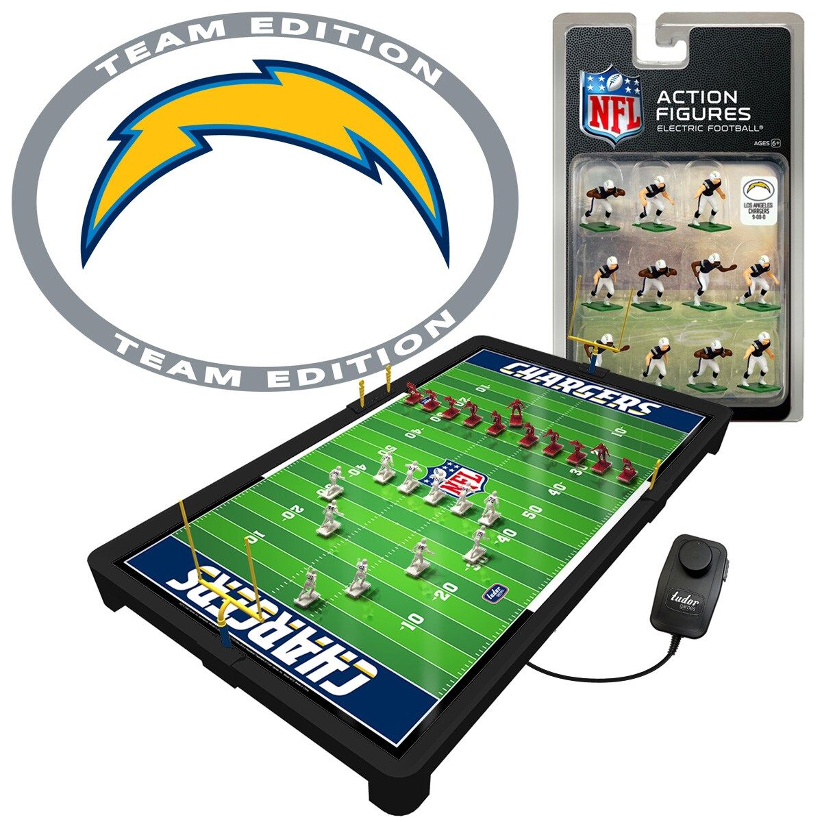 Los Angeles Chargers Electric Football Game