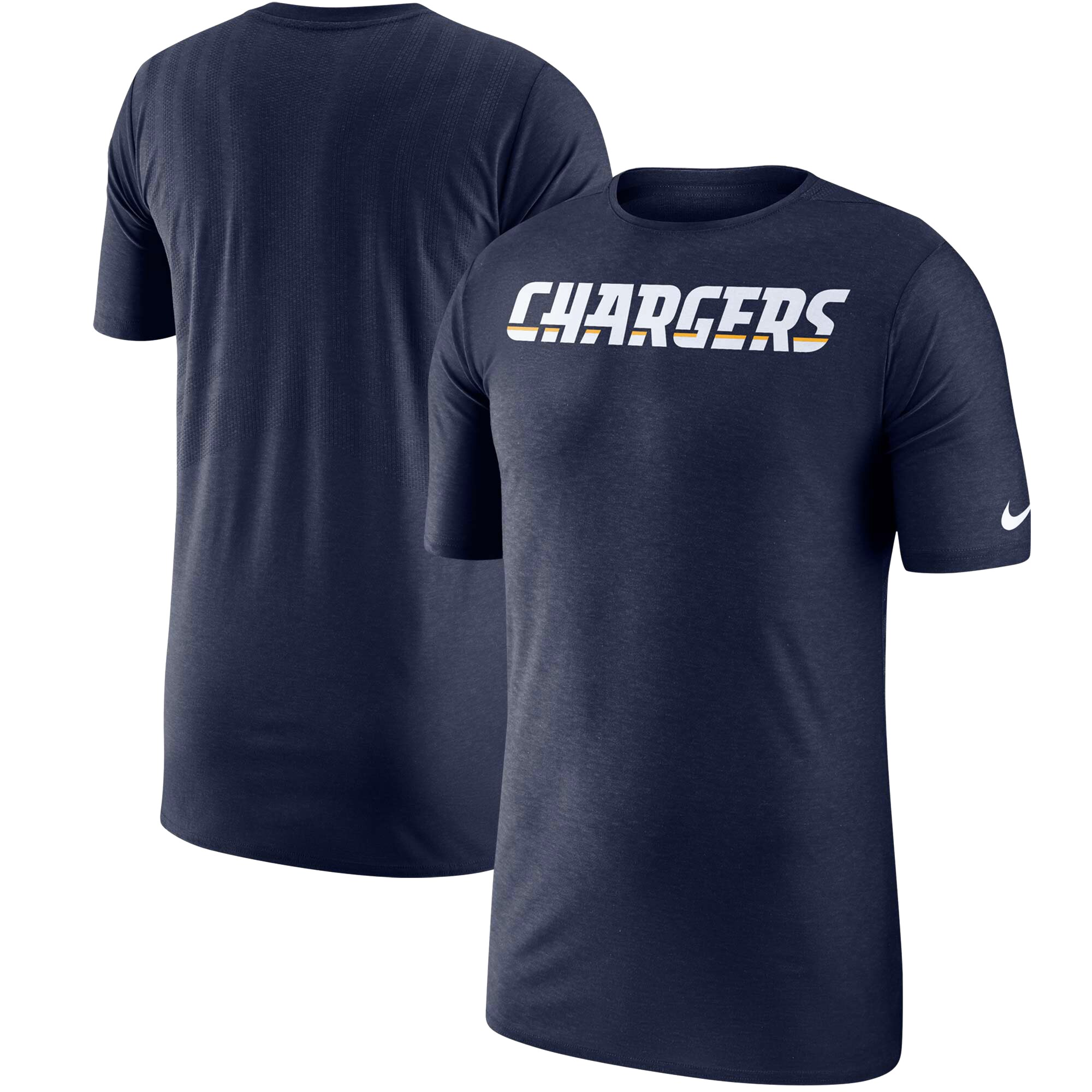 Los Angeles Chargers Nike Sideline Player T-Shirt - Navy