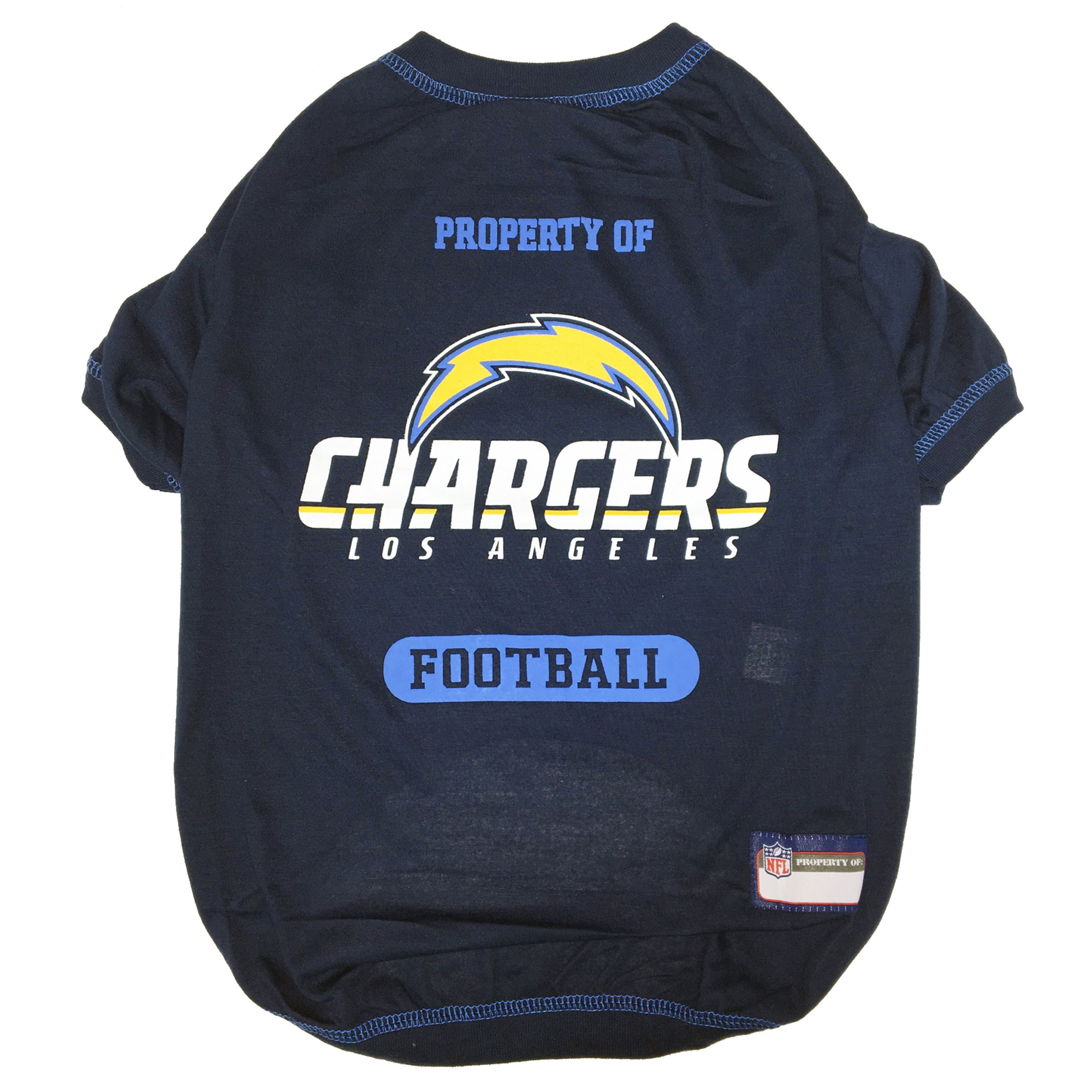 Los Angeles Chargers Dog T-Shirt
