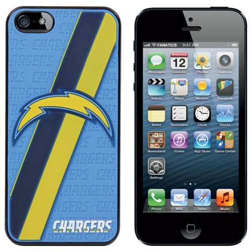 Los Angeles Chargers iPhone 5 Hard Case