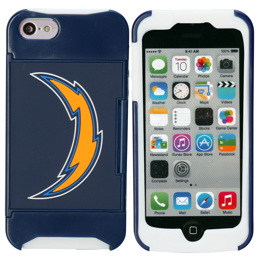 Los Angeles Chargers iPhone 5 Credit Card Case