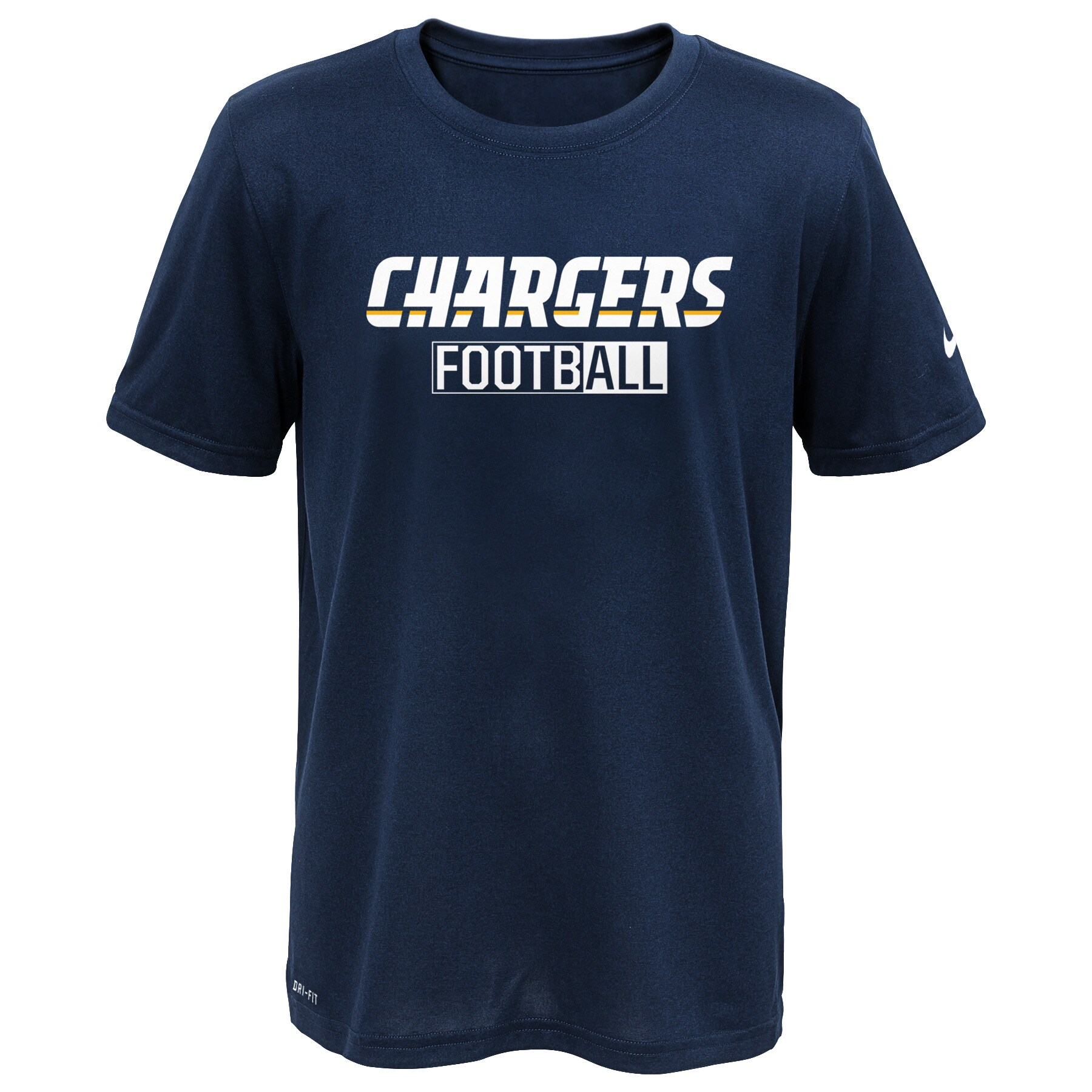 Los Angeles Chargers Nike All Football Legend T-Shirt - Navy