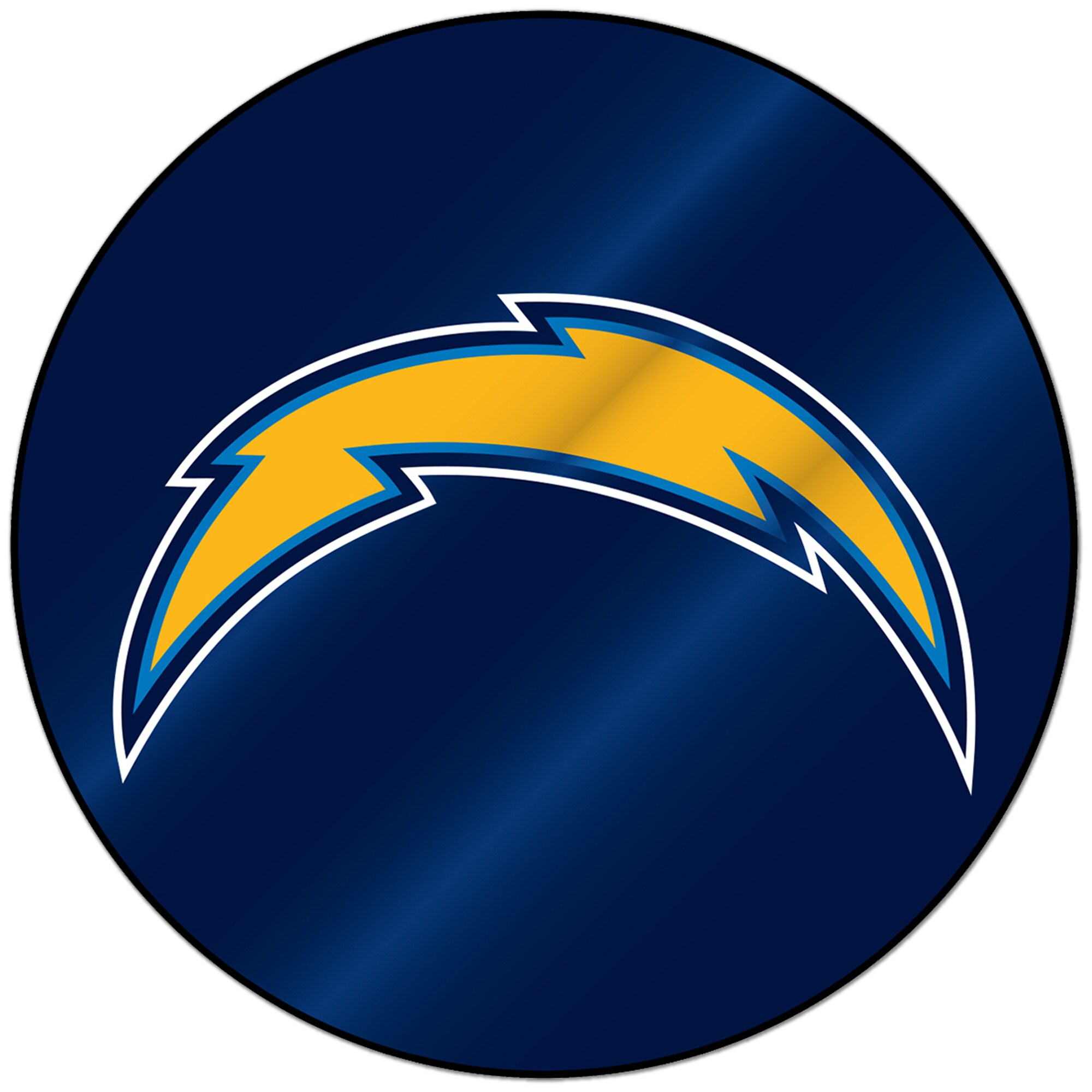 Los Angeles Chargers Sparo Laser Discus Decal