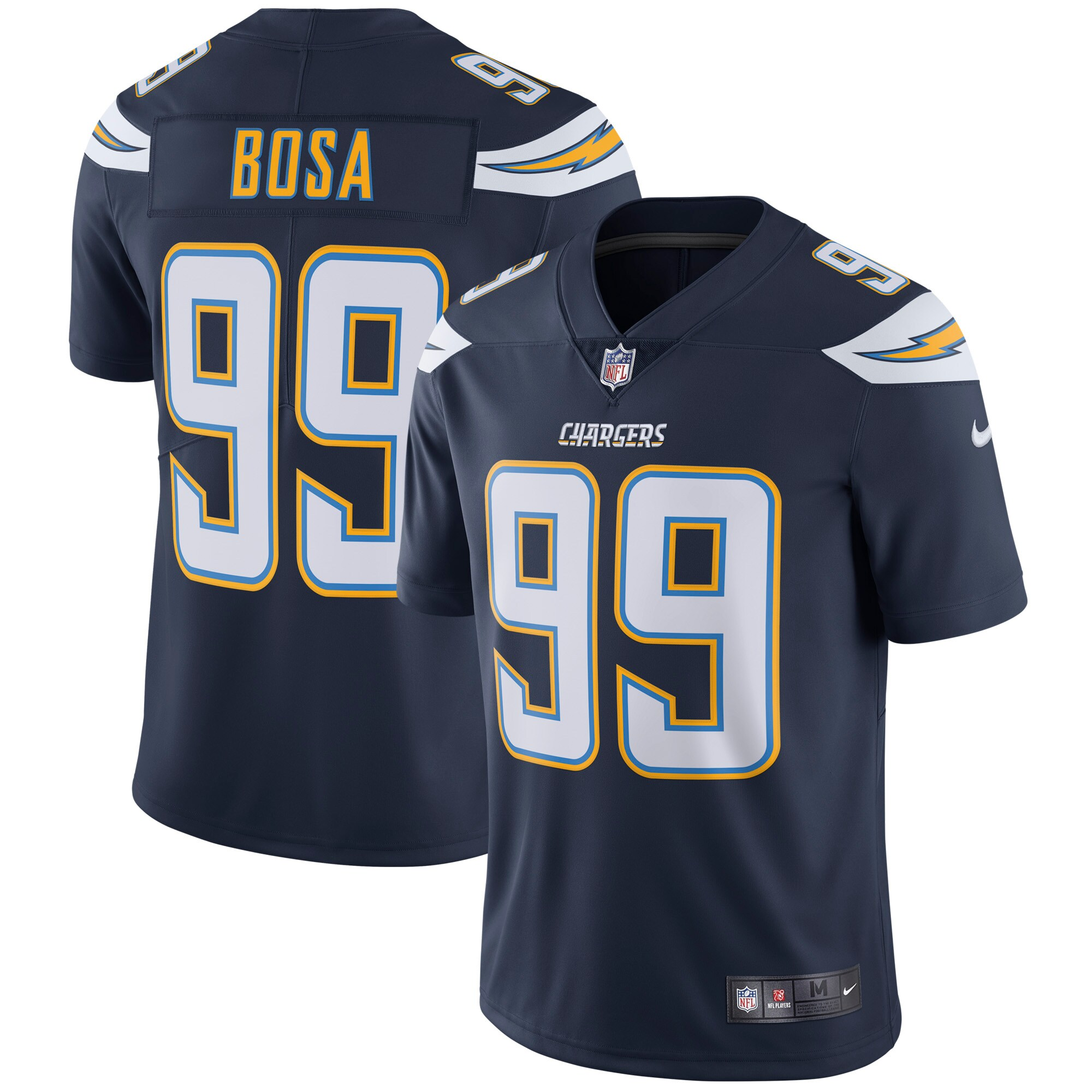 Joey Bosa Los Angeles Chargers Nike Vapor Untouchable Limited Player Jersey - Navy