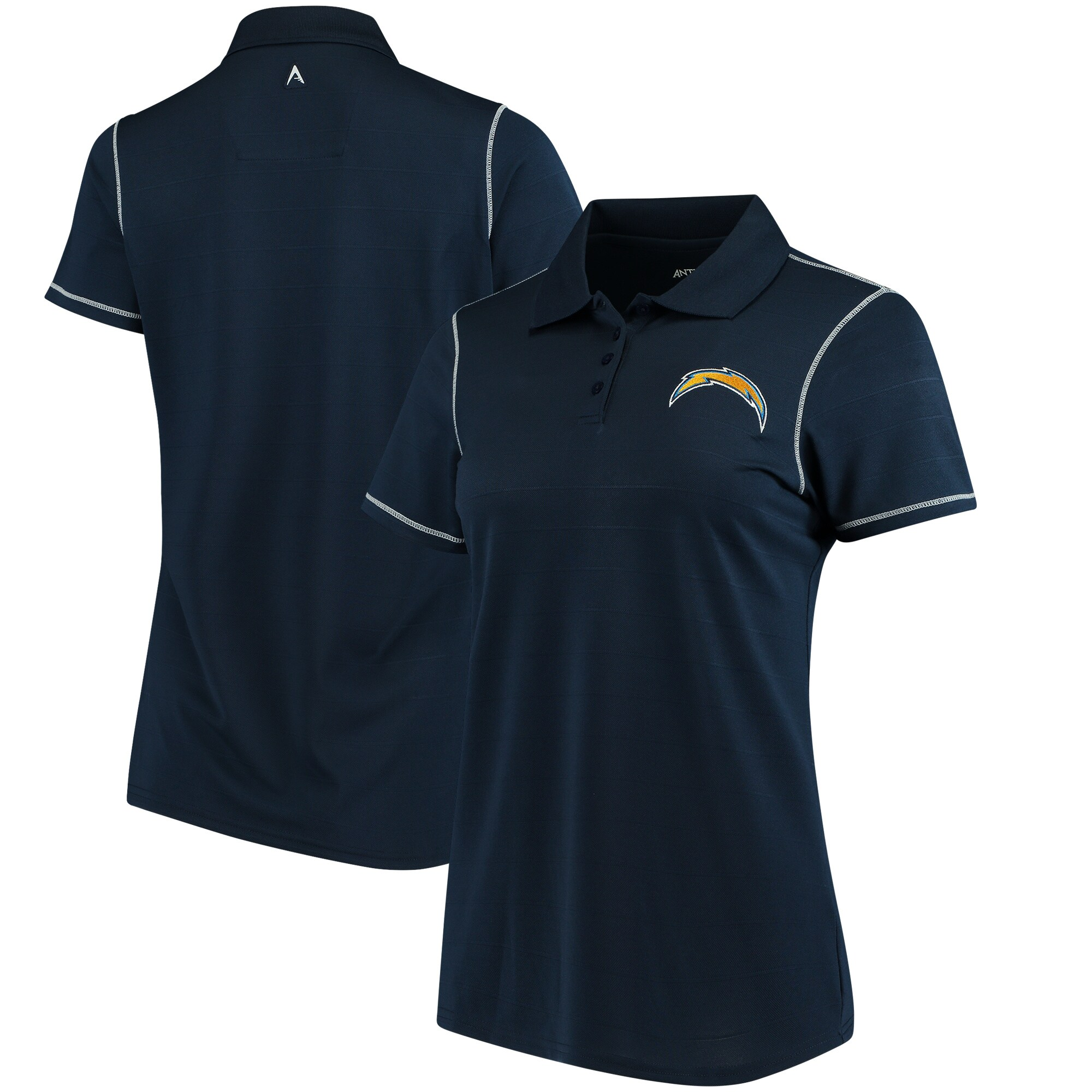 Los Angeles Chargers Antigua Women's Icon Polo - Navy