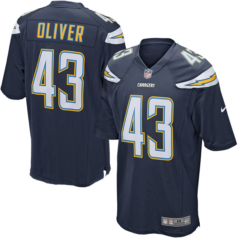 Branden Oliver Los Angeles Chargers Nike Game Jersey - Navy Blue