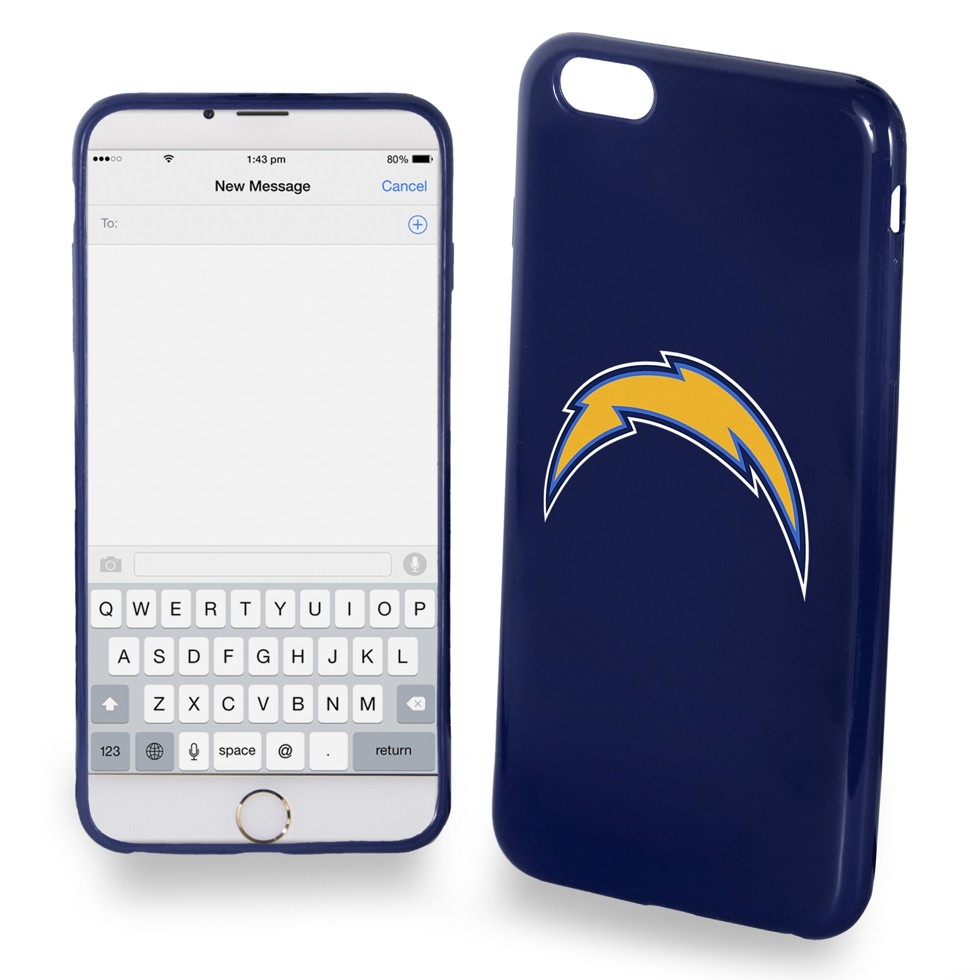 Los Angeles Chargers iPhone 6 Plus Phone Case