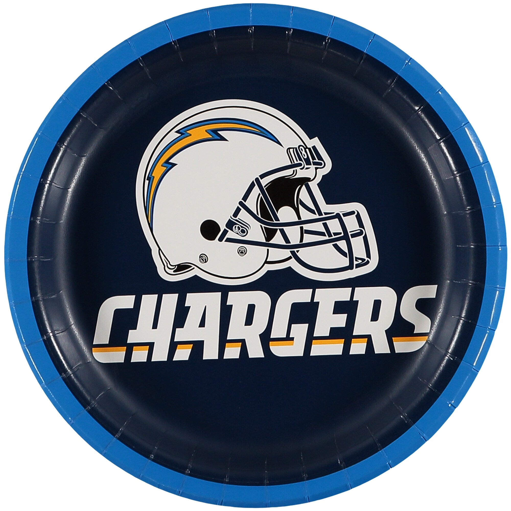 Los Angeles Chargers 8-Pack Lunch Plate Set