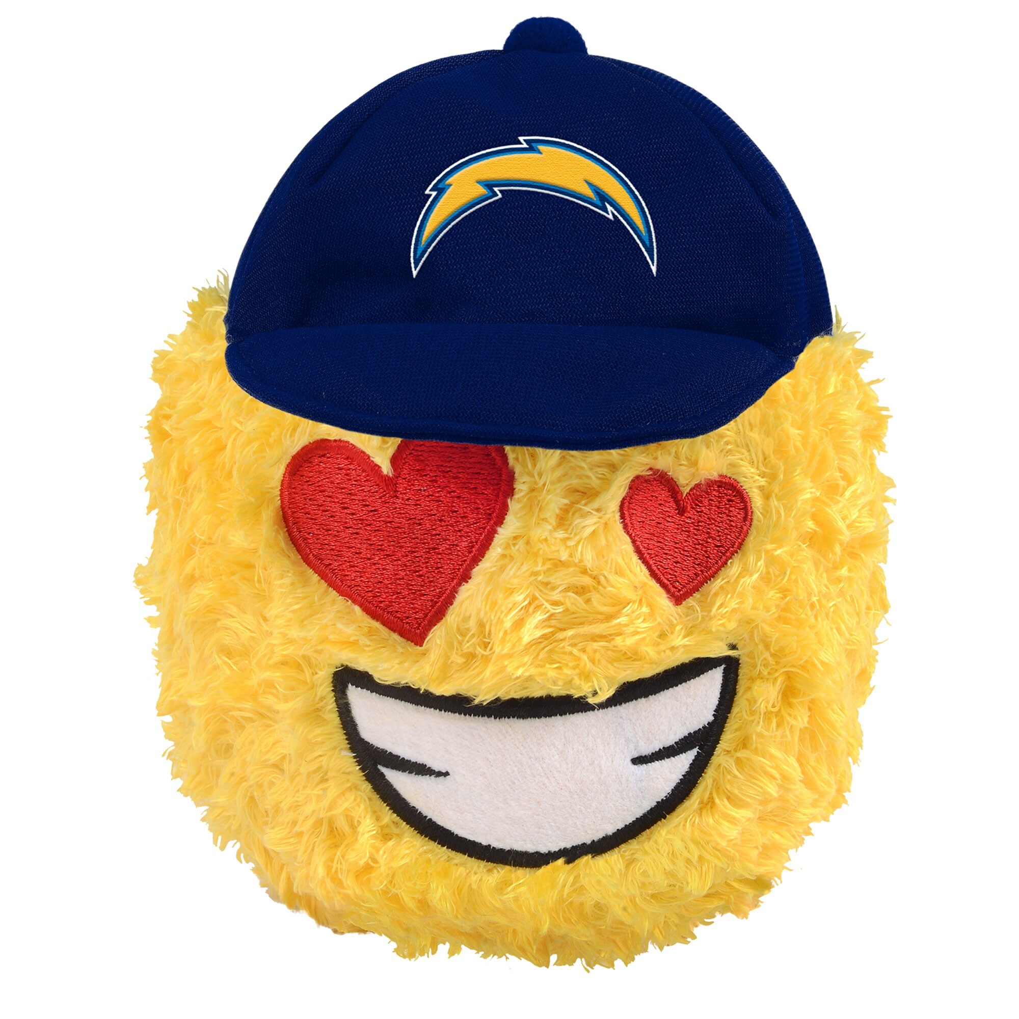 "Los Angeles Chargers 5"" Heart Eyes Teamoji Plush Toy"
