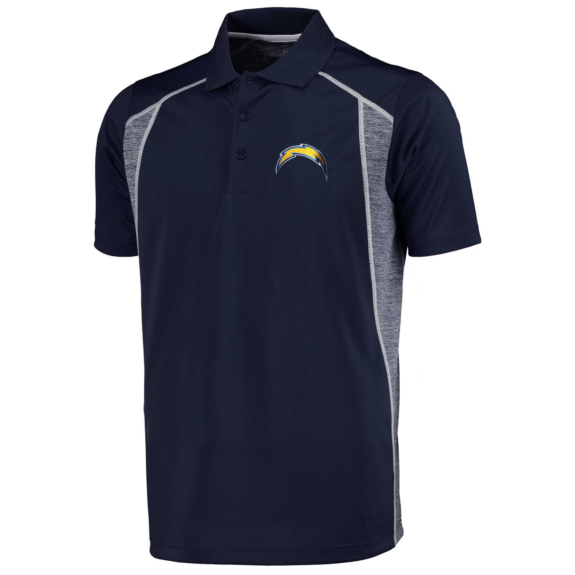 Los Angeles Chargers Antigua Attempt Polo - Navy