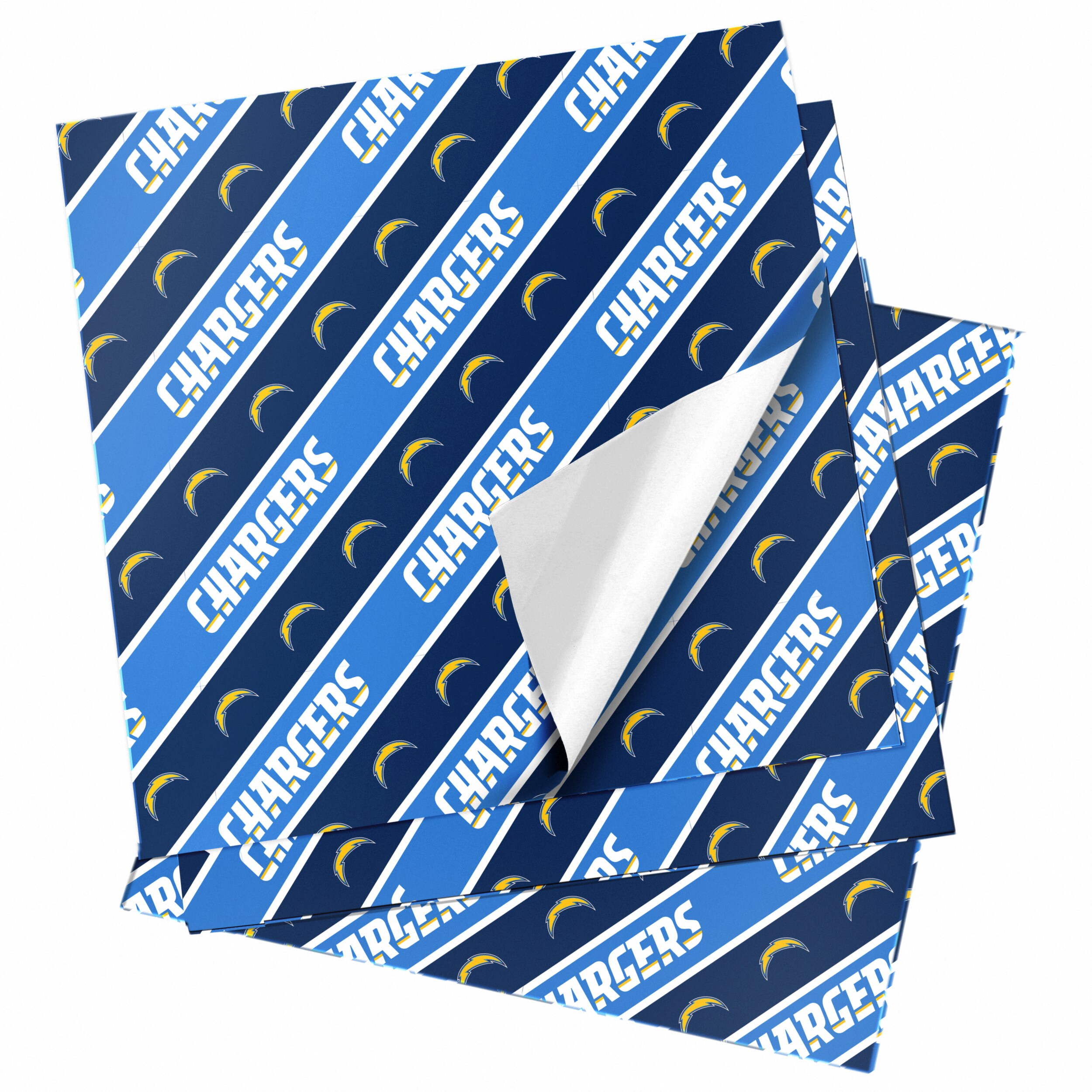 "Los Angeles Chargers 20"" x 30"" Wrapping Paper"