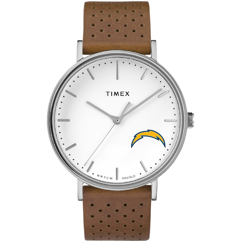 Los Angeles Chargers Timex Bright Whites Tribute Collection Watch