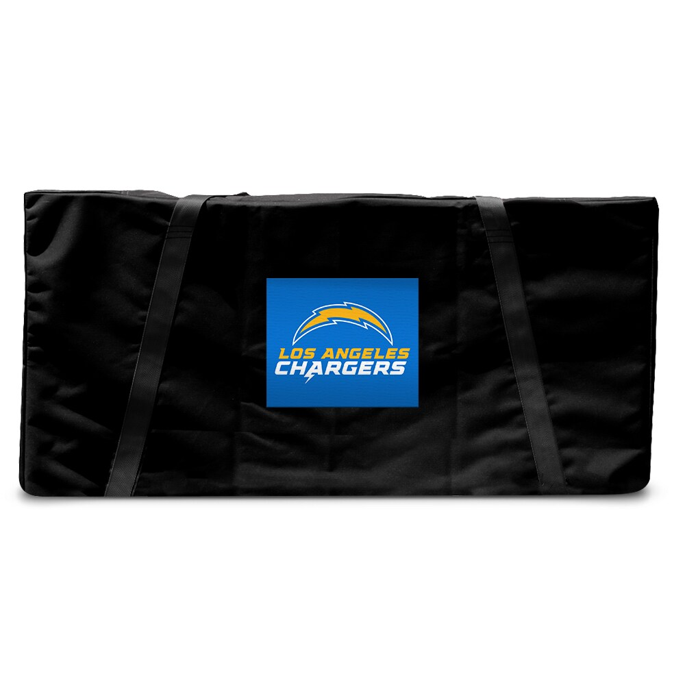 Los Angeles Chargers Regulation Cornhole Carrying Case