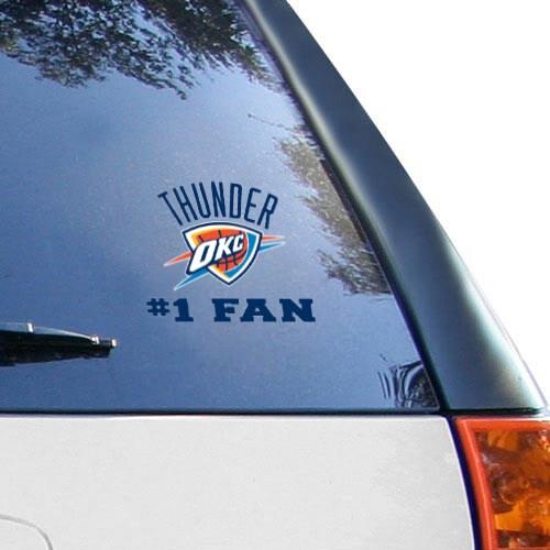 "Oklahoma City Thunder WinCraft 3"" x 4"" Multi-Use Decal"