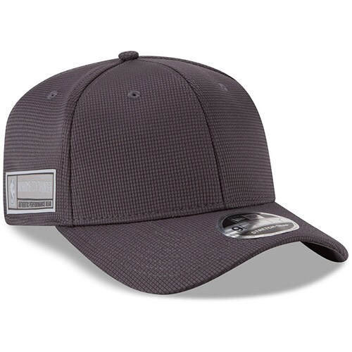 Oklahoma City Thunder New Era Authentics Training 9FIFTY Adjustable Snapback Hat - Graphite