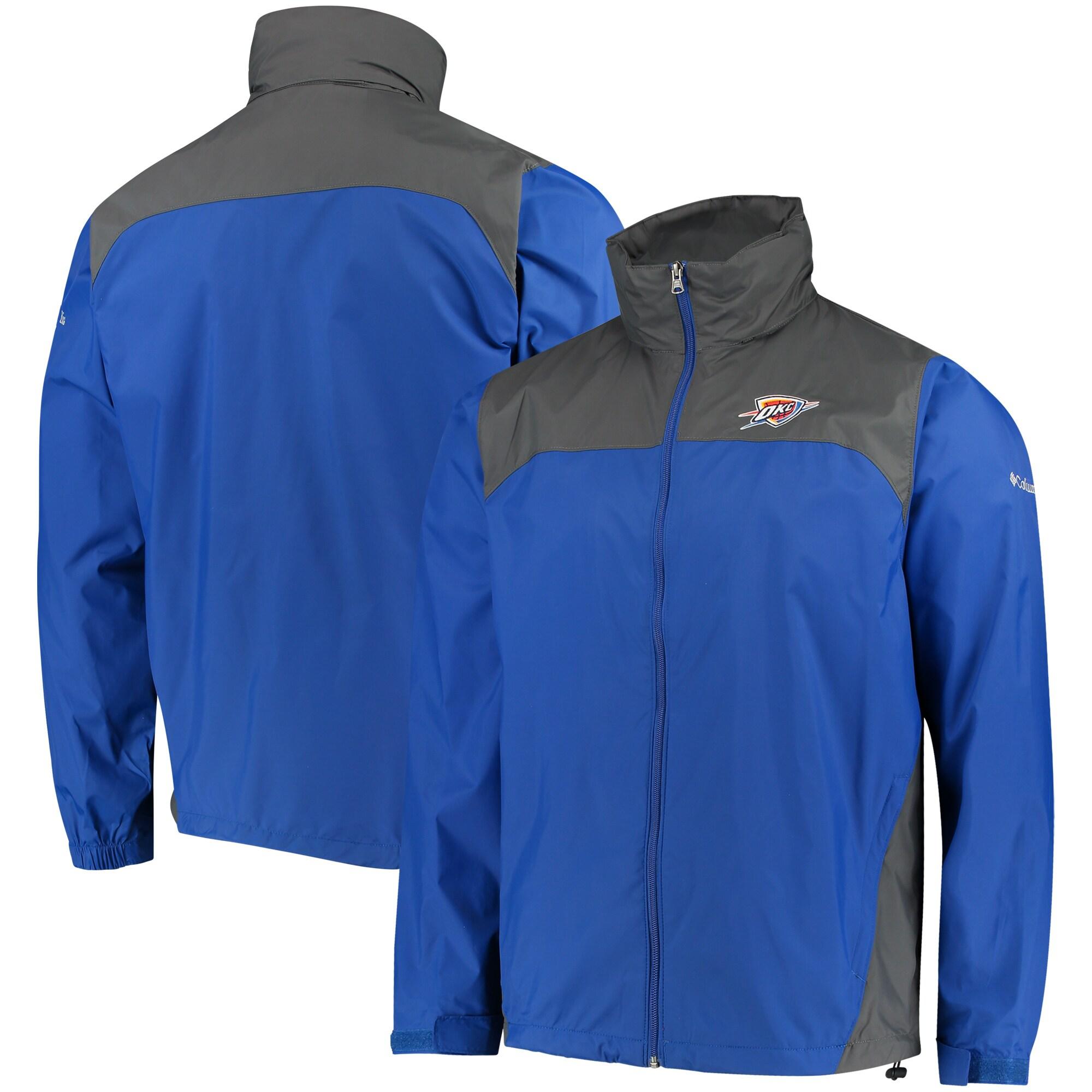 Oklahoma City Thunder Columbia Glennaker Lake Full-Zip Jacket - Blue