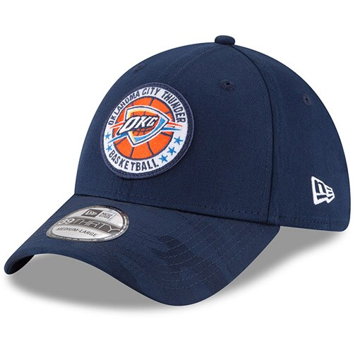Oklahoma City Thunder New Era 2018 Tip Off Series 39THIRTY Flex Hat - Blue