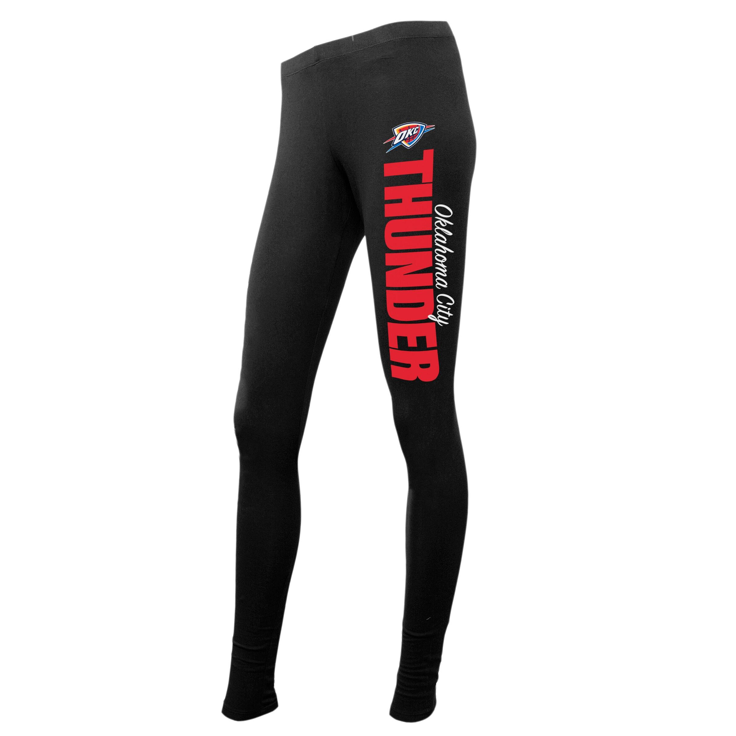 Oklahoma City Thunder Concepts Sport Women's Logo Leggings - Black